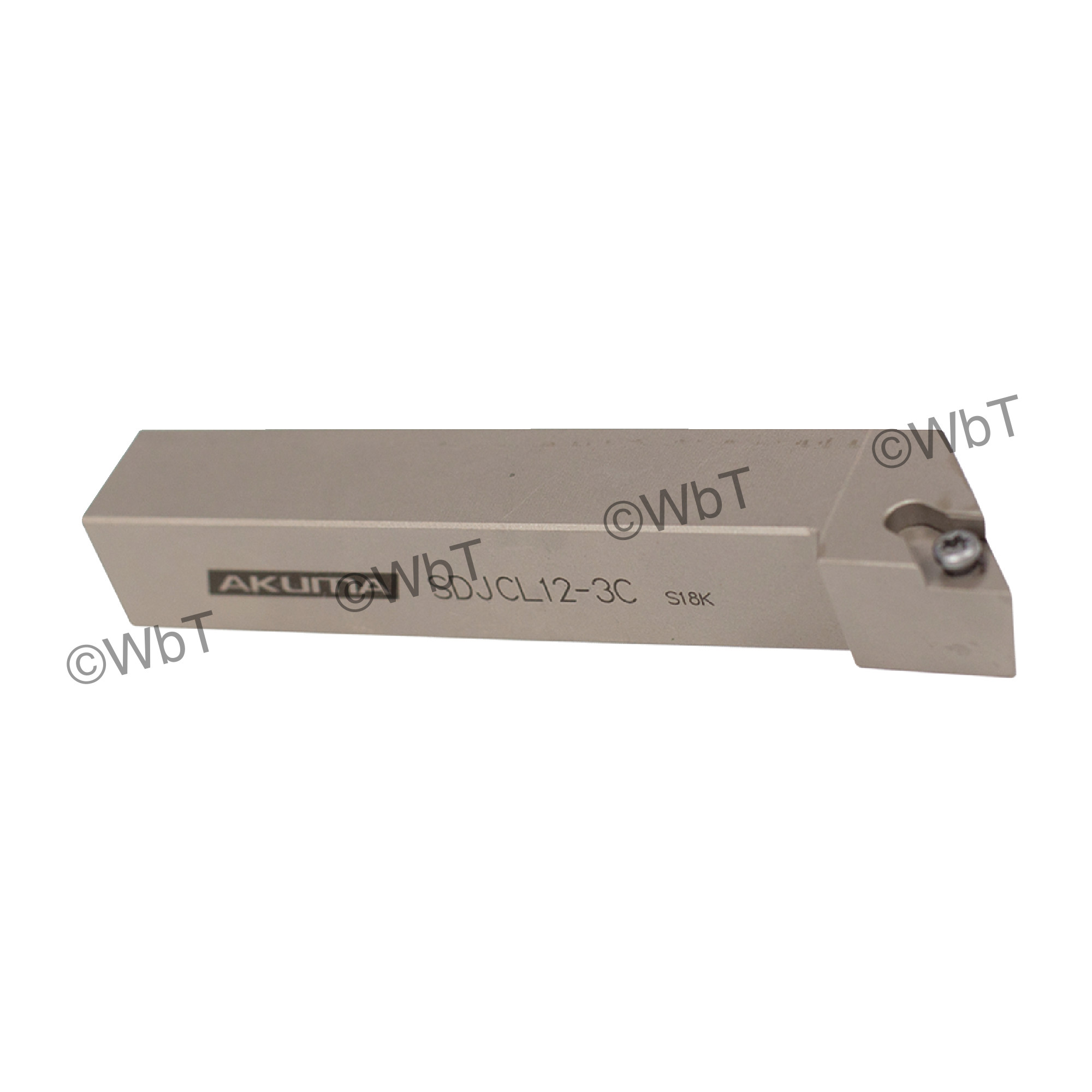 "AKUMA - SDJCL12-3C / 3/4"" Shank Holder for DCMT3(2.5)_ / Left Hand"