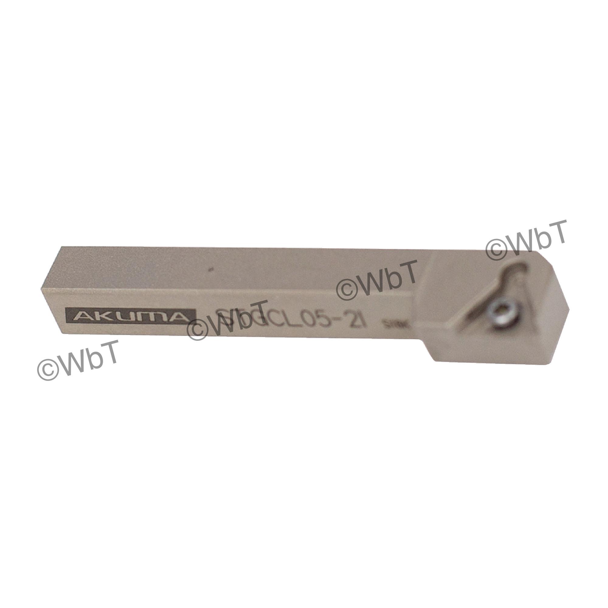 """AKUMA - STGCL05-2I / 5/16"""" Shank Holder for TCMT2(1.5)_ / Left Hand"""
