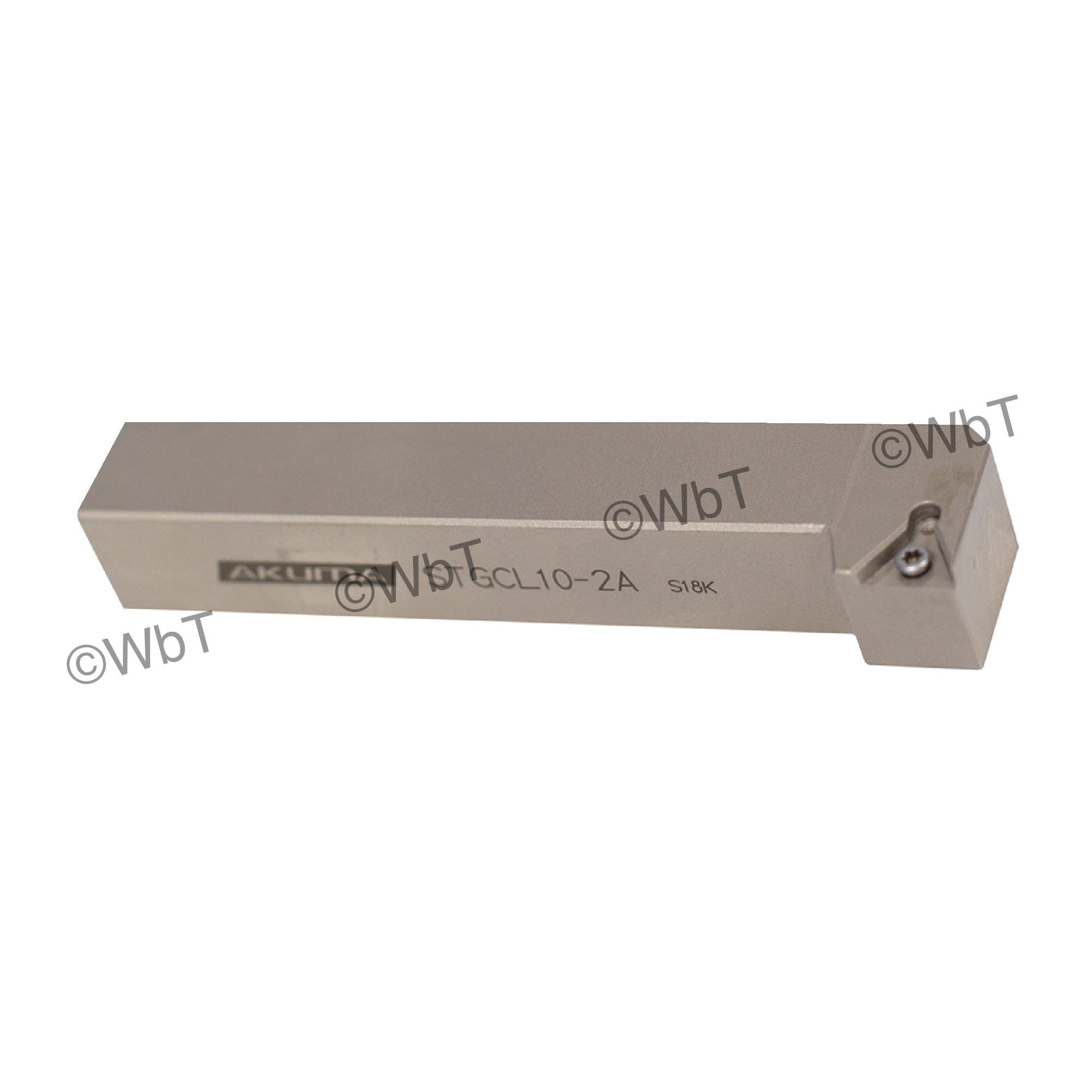 """AKUMA - STGCL10-2A / 5/8"""" Shank Holder for TCMT2(1.5)_ / Left Hand"""