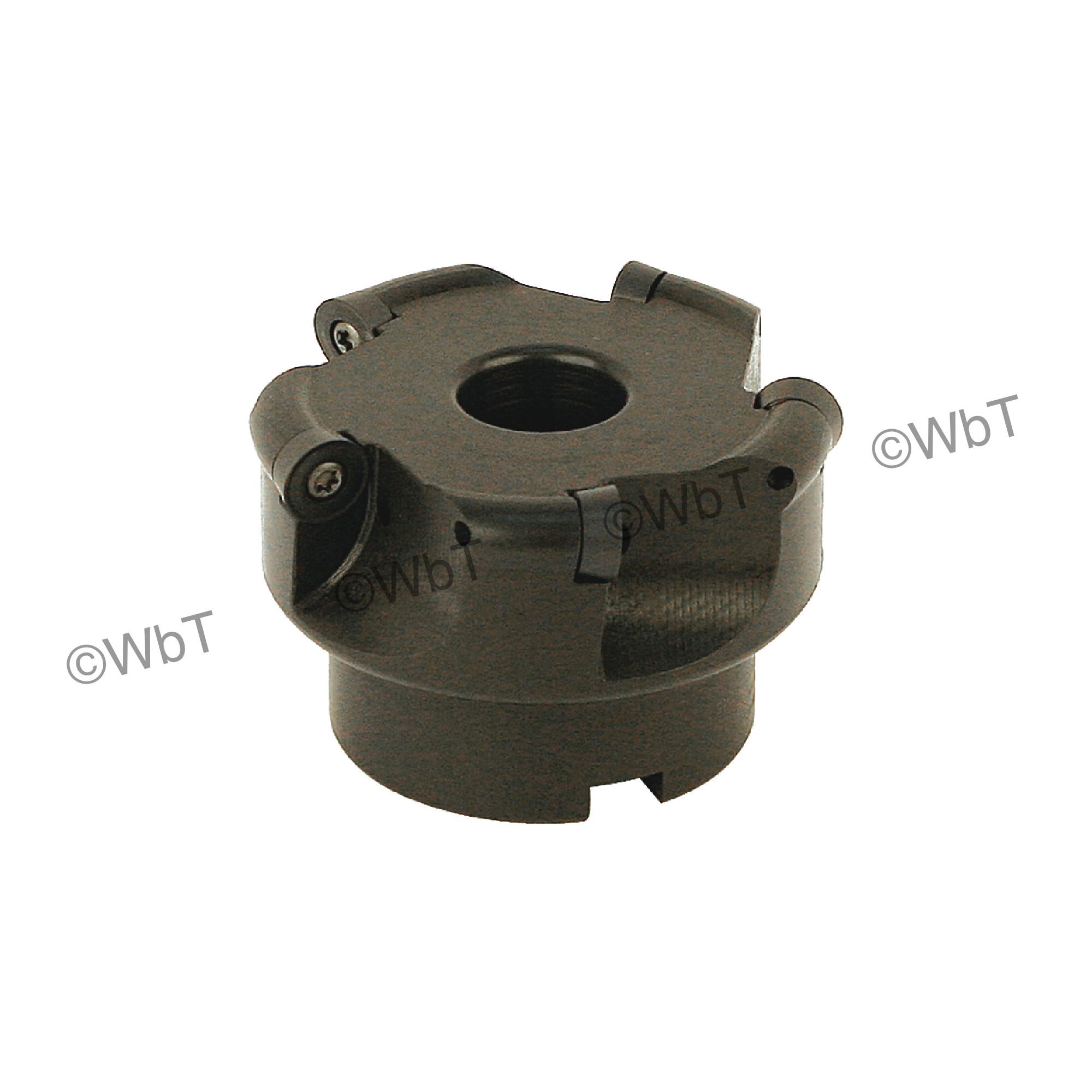 "AKUMA - 3.000"" Face Mill Set / Includes: (1) RPC.43.300R-5 (3.0""ø) & (10) RPMT1204M0S-M1 PM20M Coated Inserts / R"