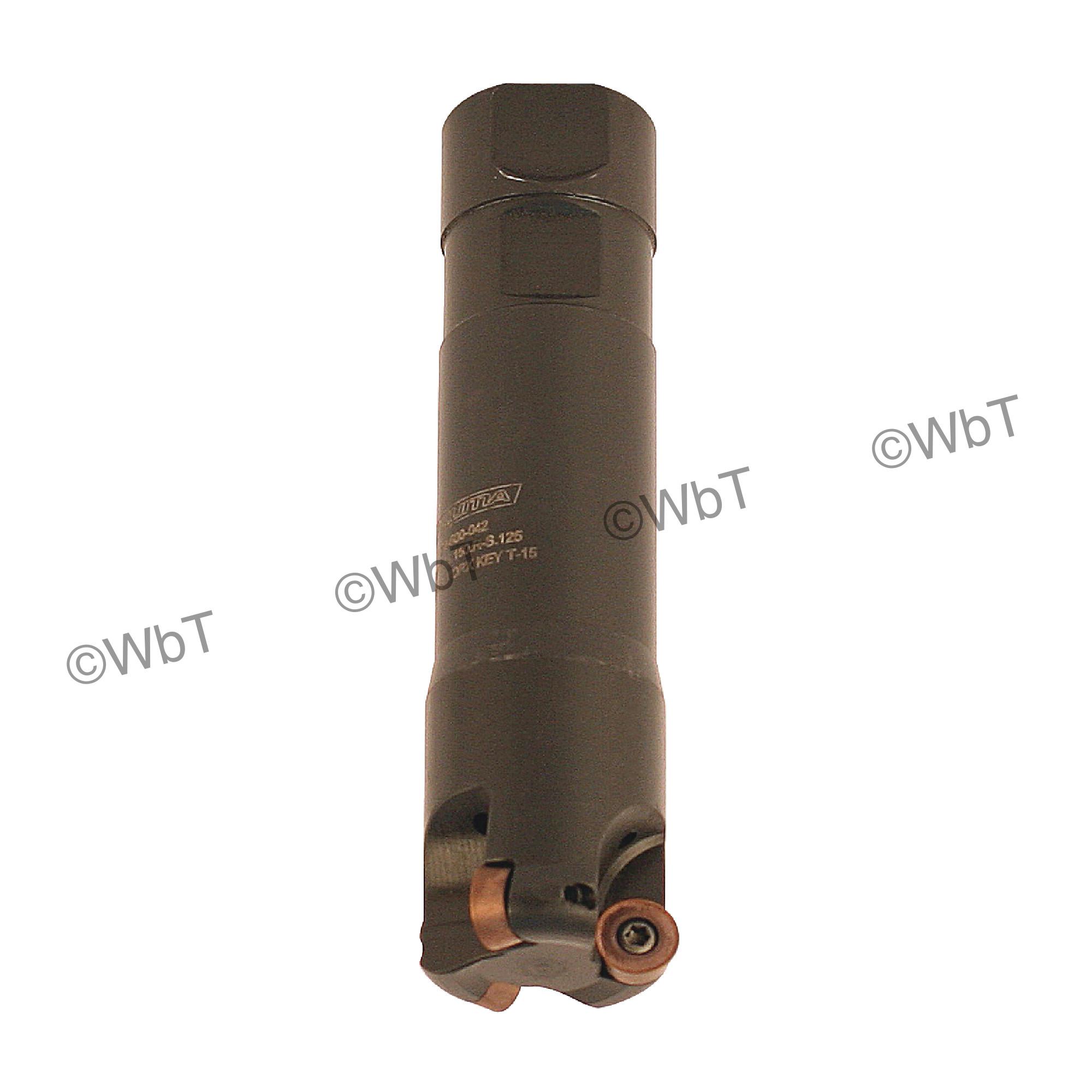 "AKUMA - 1.500"" Endmill Set / Includes: (1) RPS.43.150.R-S.125 (1.5""ø) & (10) RPMT1204M0S-M1 PM15M Coated Inserts"