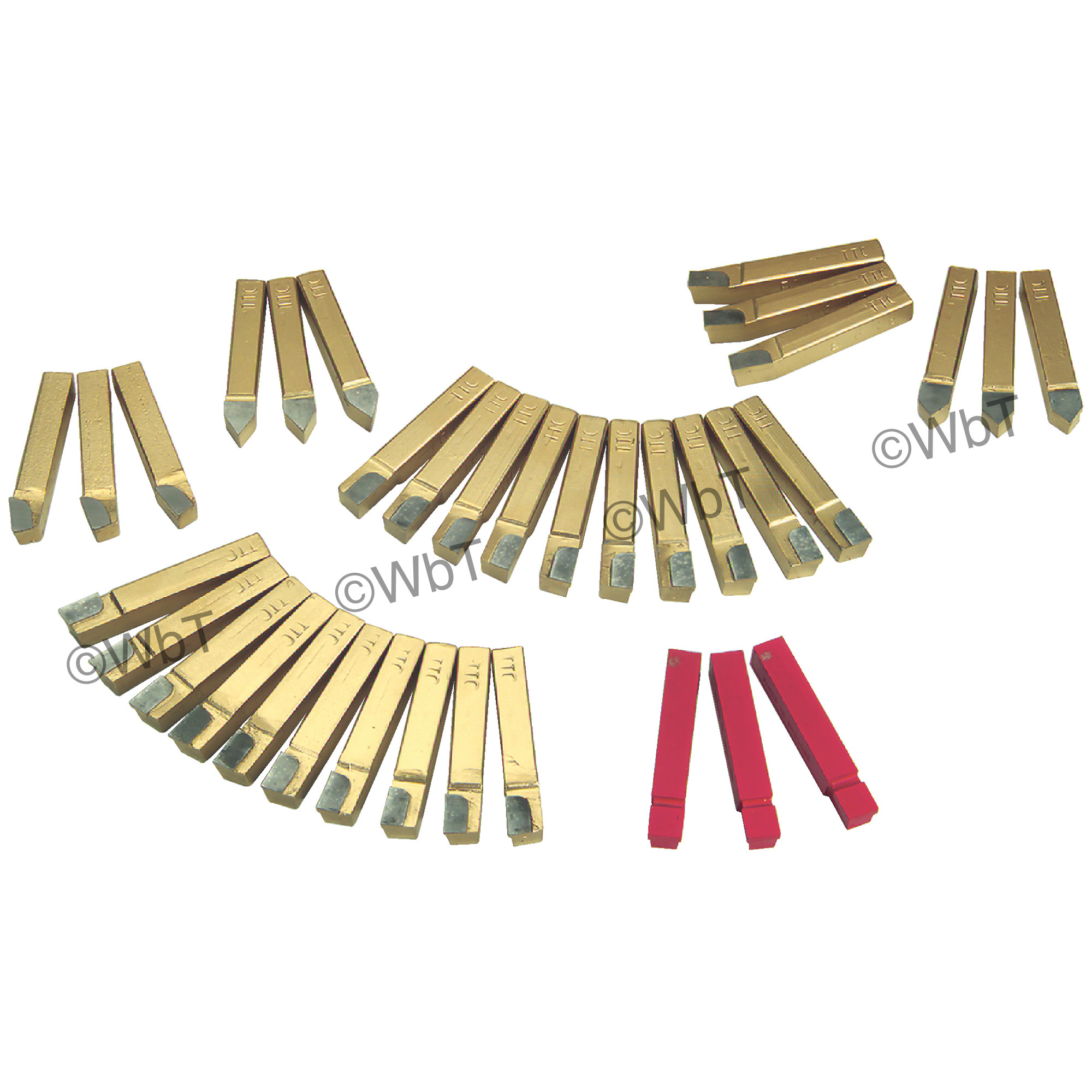 35 Piece Carbide Tipped Tool Bit Set