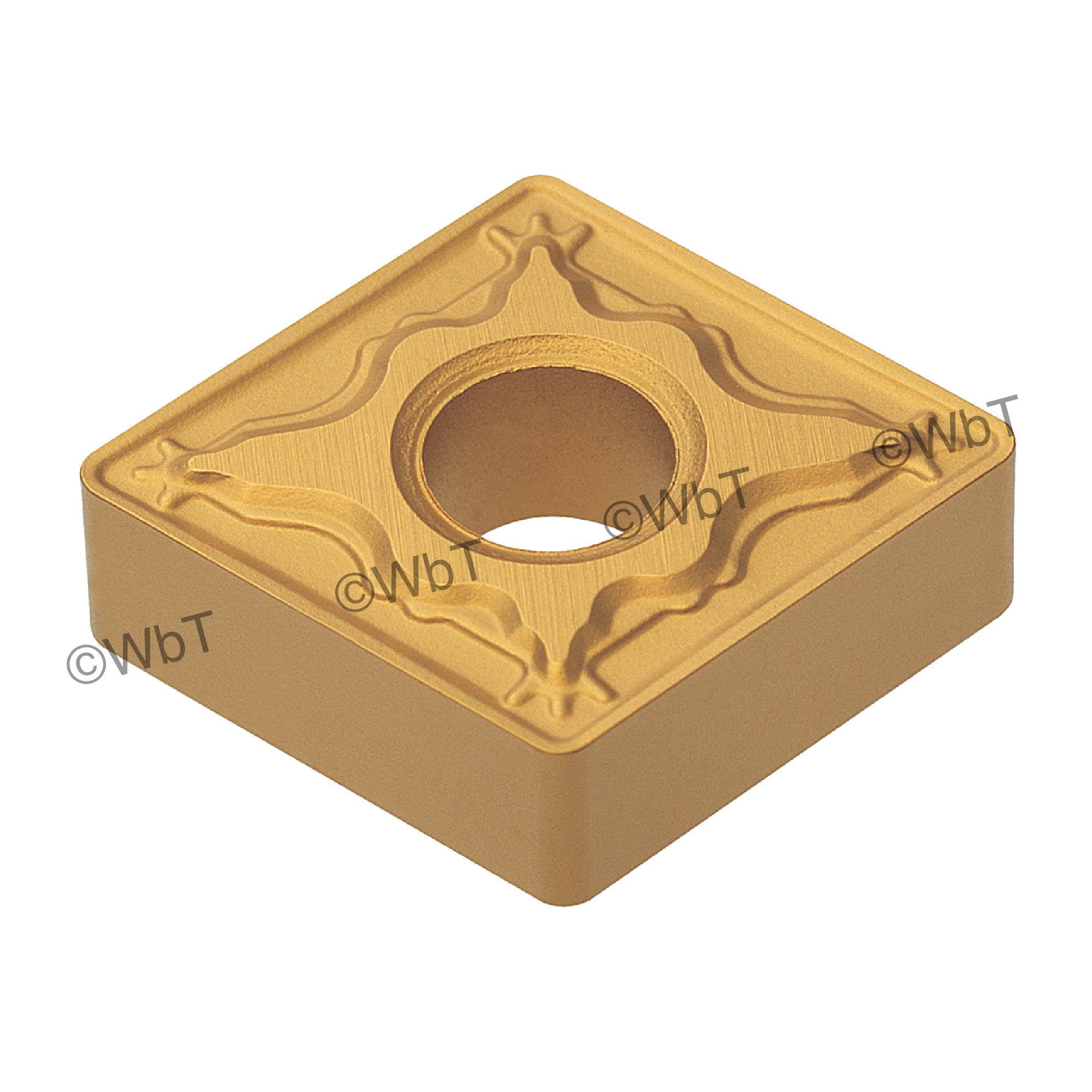 AKUMA - CNMG431-MRP1 CT25M - 80° Diamond / Indexable Carbide Turning Insert