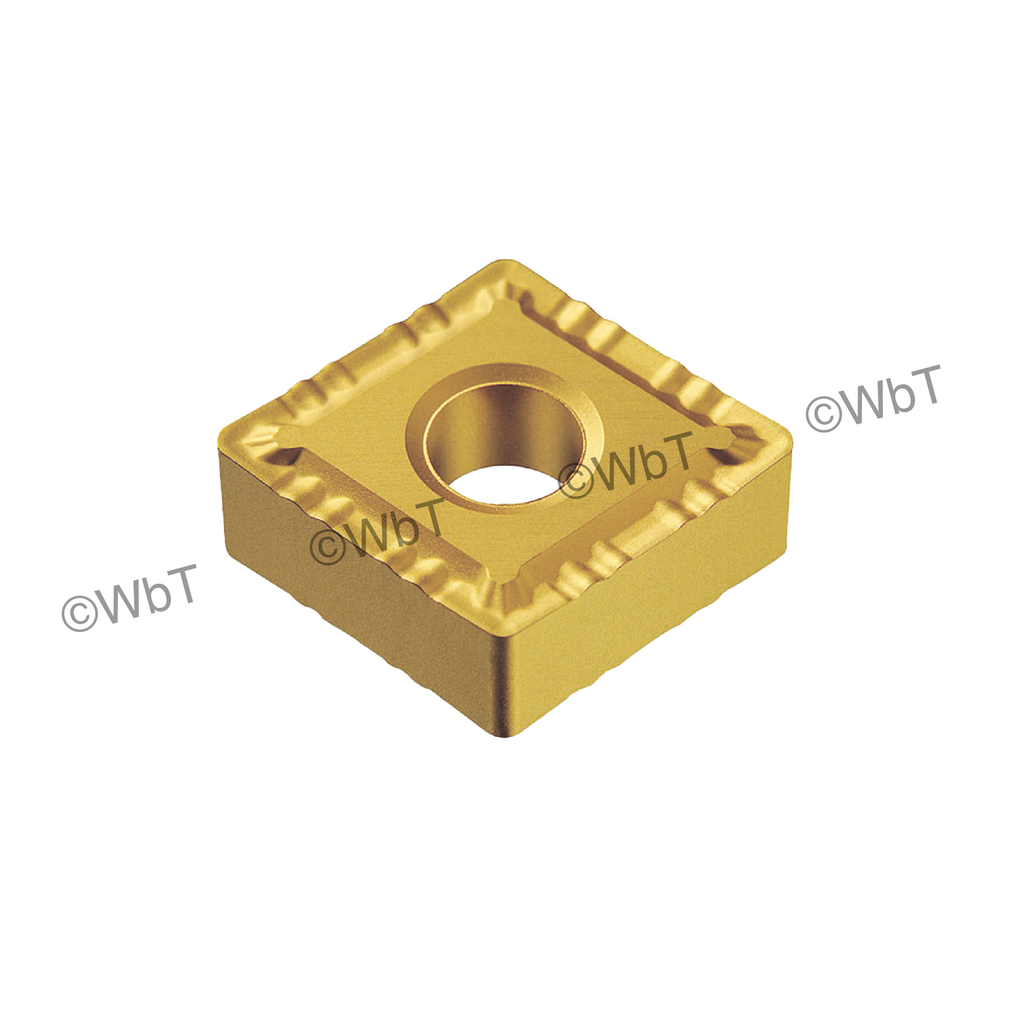AKUMA - CNMG432-LMP1 CT25M - 80° Diamond / Indexable Carbide Turning Insert