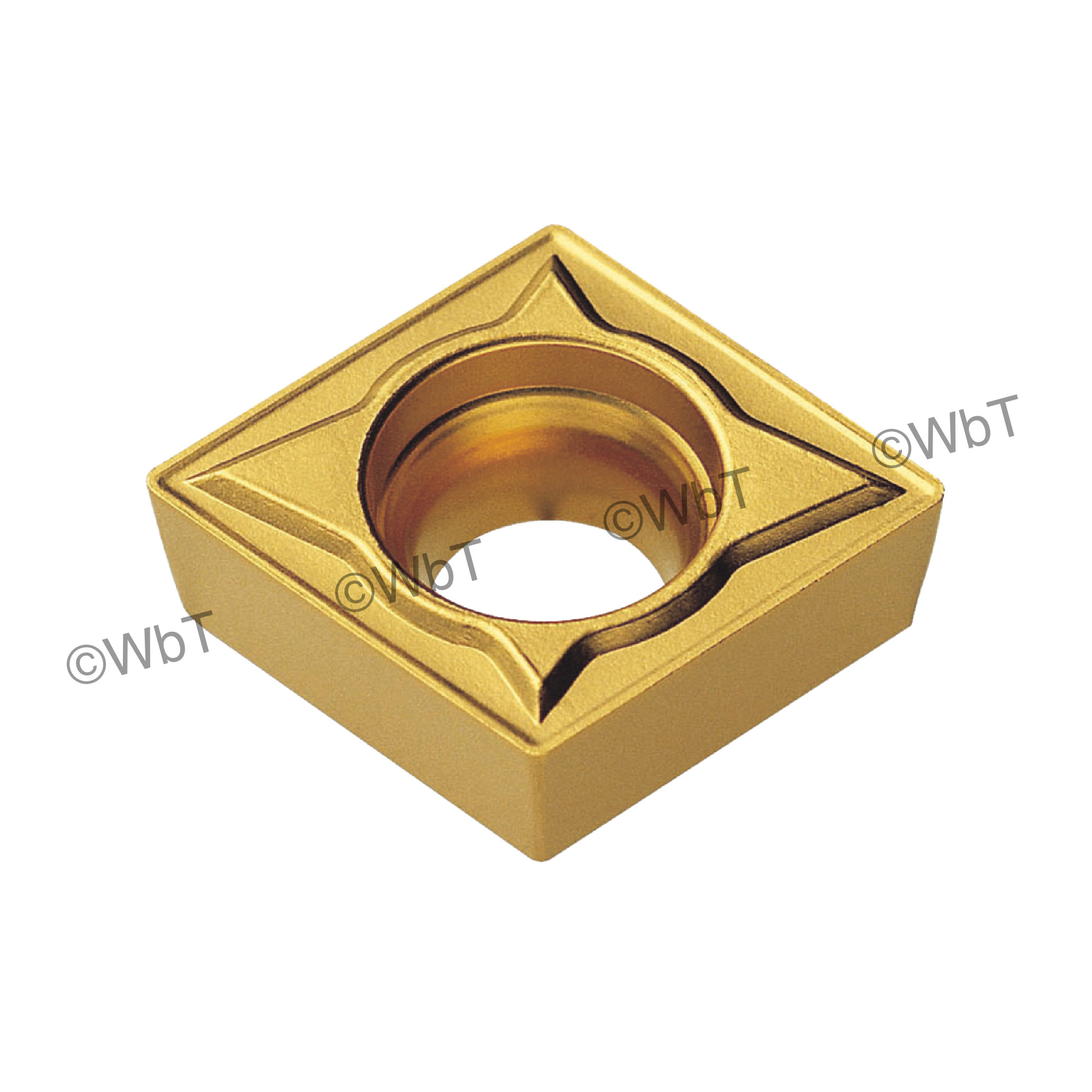 AKUMA - CCMT2(1.5)2-MP1 CT25M - 80° Diamond / Indexable Carbide Turning Insert