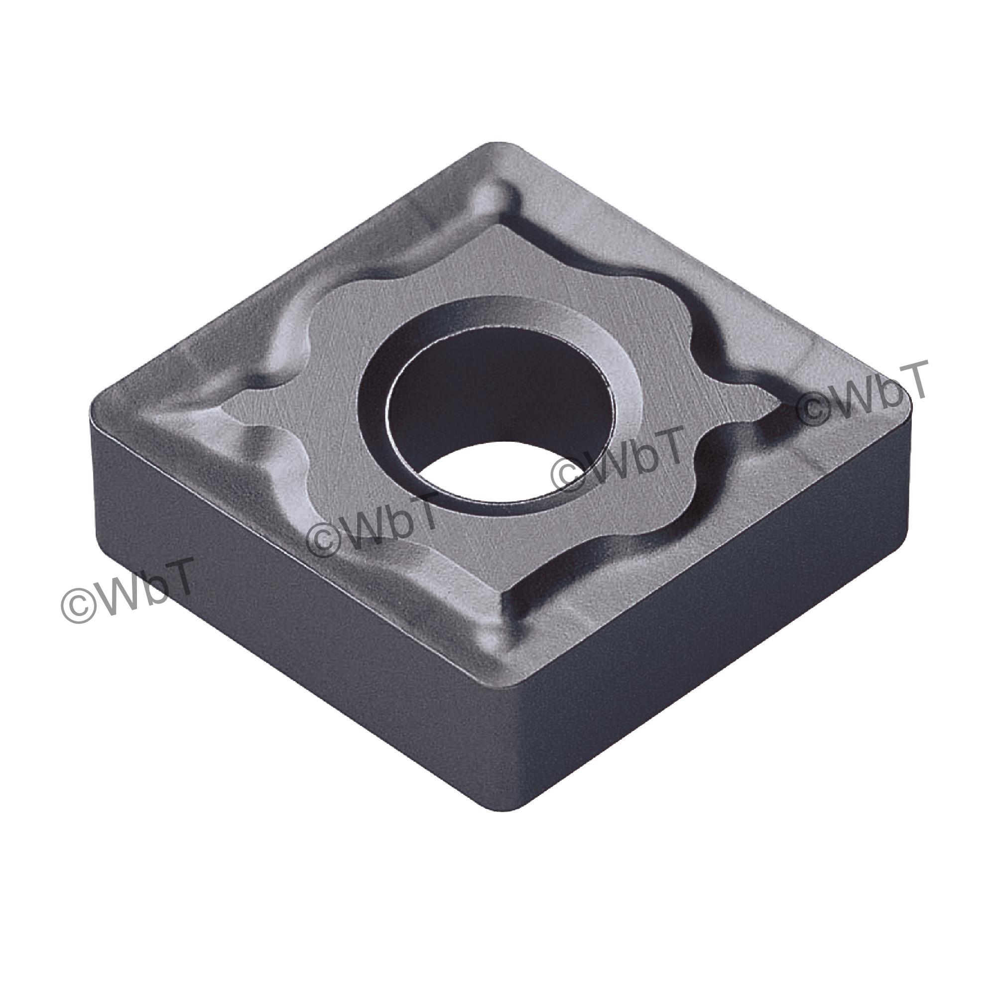 AKUMA - CNMG431-MRM1 PT10S - 80° Diamond / Indexable Carbide Turning Insert