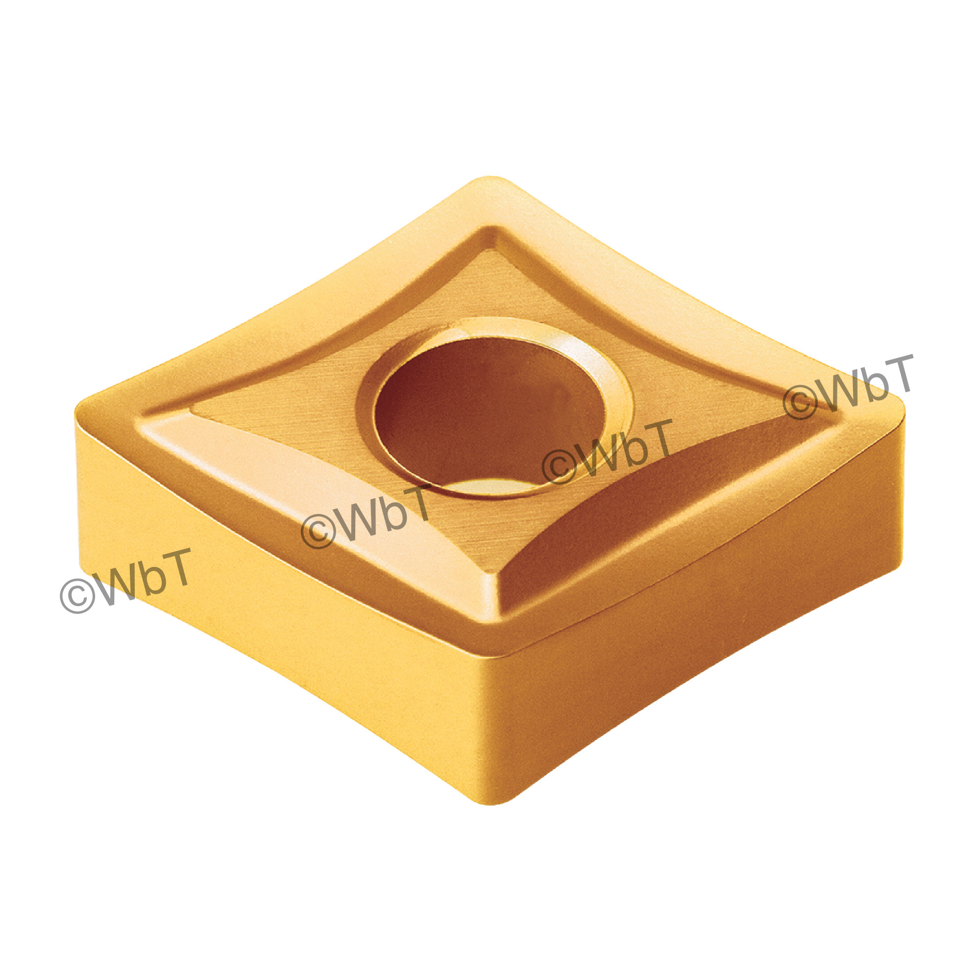 AKUMA - CNMG431-HPS1 CT25M - 80° Diamond / Indexable Carbide Turning Insert