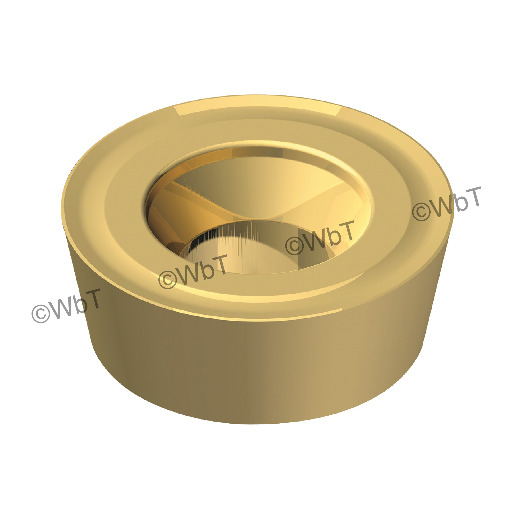 AKUMA - RPMT1204M0S-M1 CM30P Round / Indexable Carbide Milling Insert