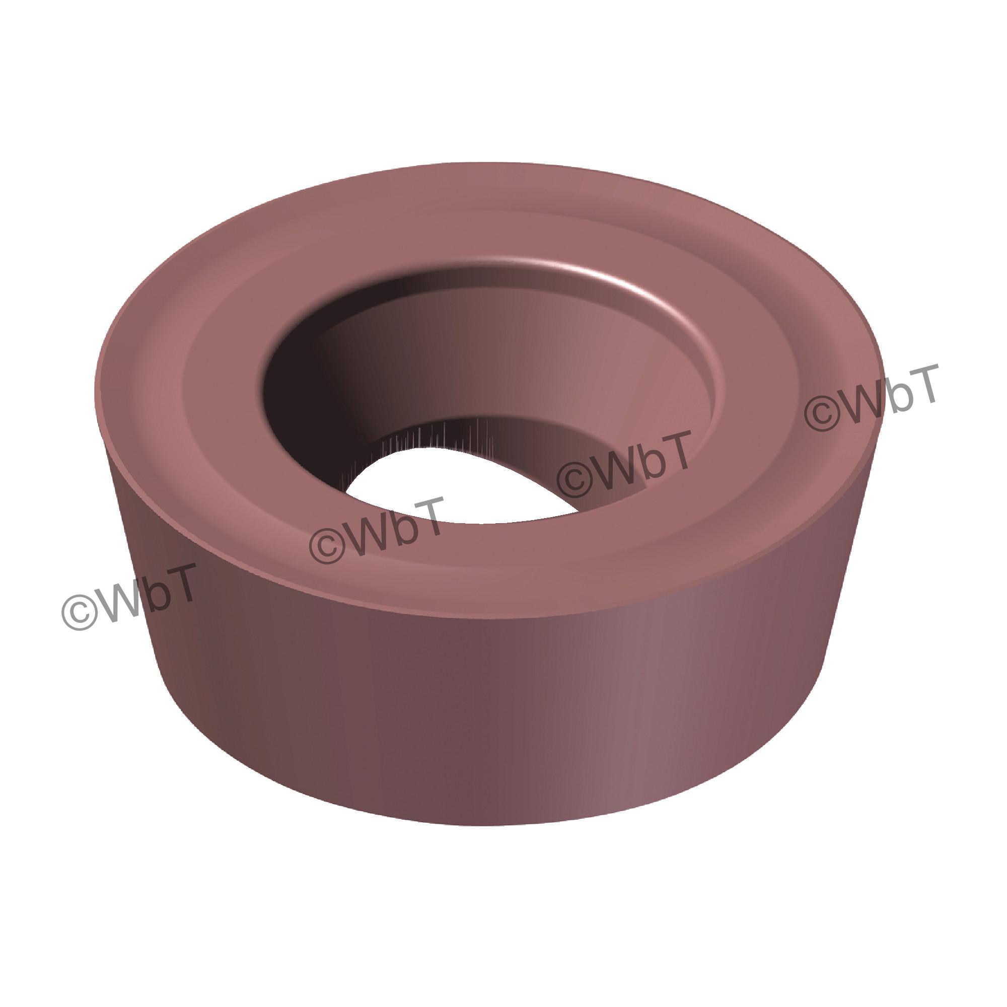 AKUMA - RPMT1204M0S-M1 PM15M Round / Indexable Carbide Milling Insert