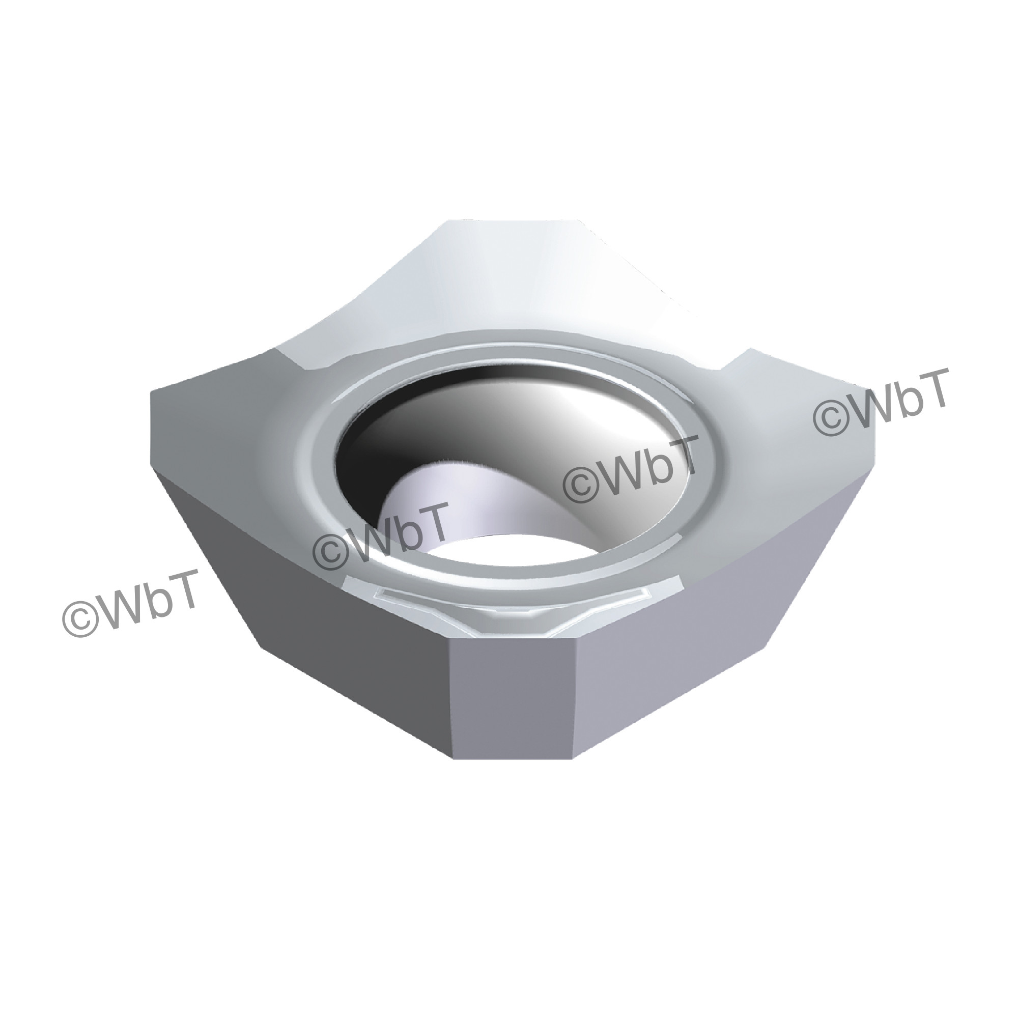 AKUMA - SEHT43AFFN-N1 JM10N Square / Indexable Carbide Milling Insert