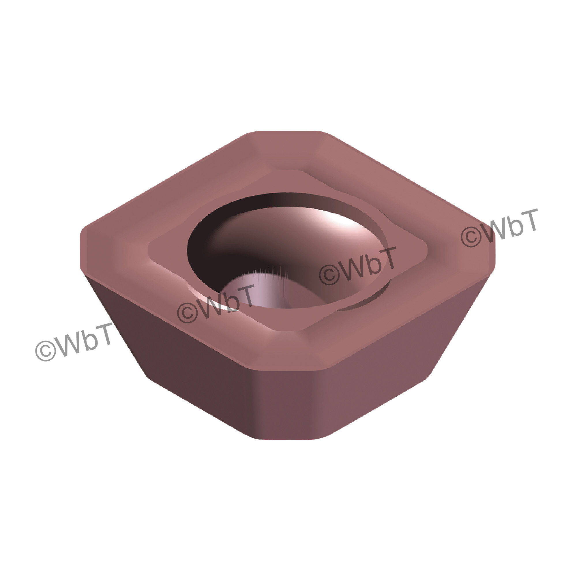 AKUMA - SEHT43AFSN-M1 PM15M Square / Indexable Carbide Milling Insert