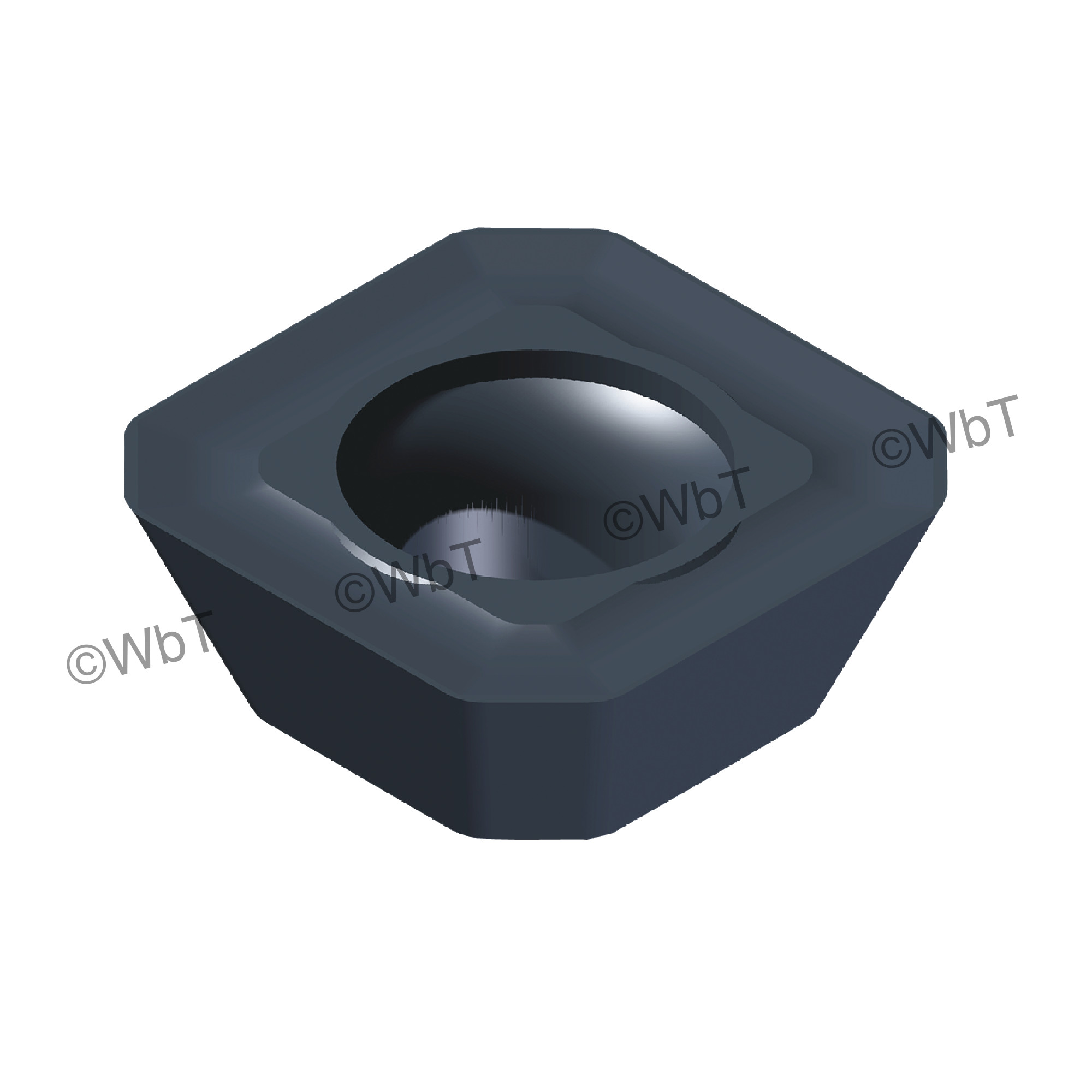 AKUMA - SEHT43AFSN-M1 PM20M Square / Indexable Carbide Milling Insert