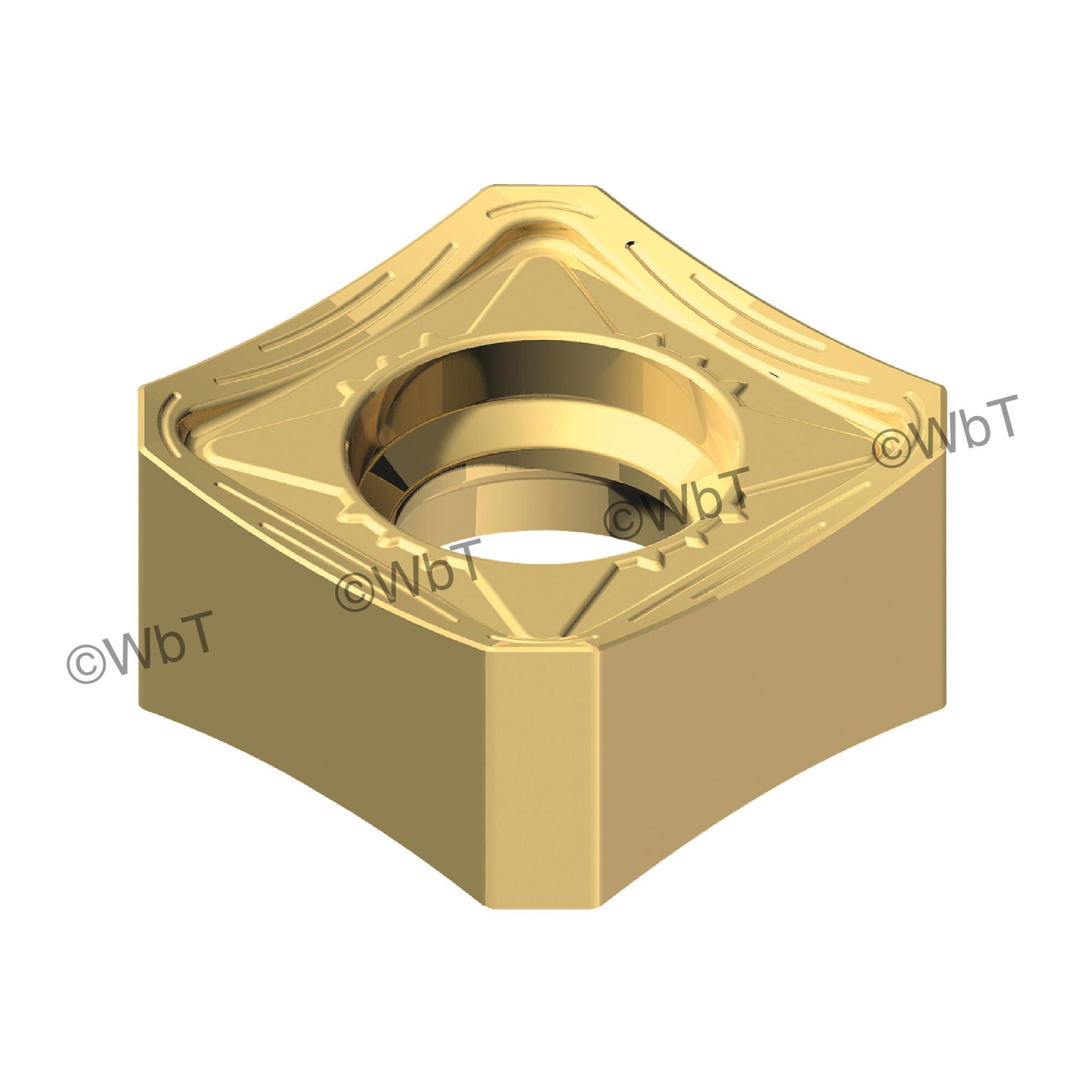 AKUMA - SNMX1205ANN-M1 CM30P Square / Indexable Carbide Milling Insert