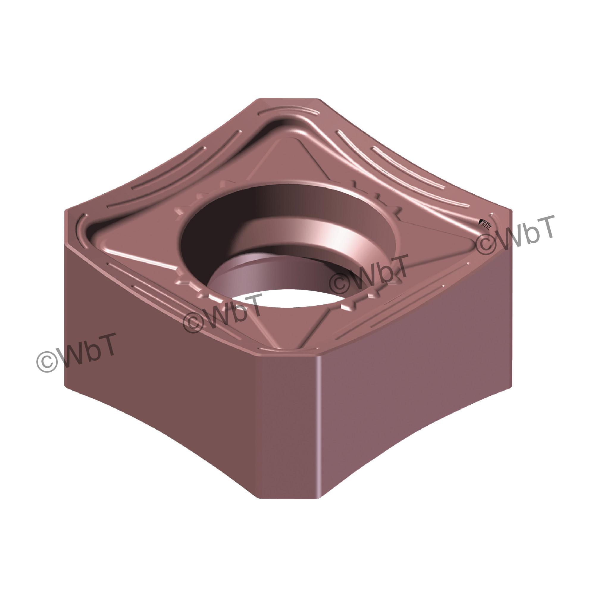 AKUMA - SNMX1205ANN-M1 PM15M Square / Indexable Carbide Milling Insert