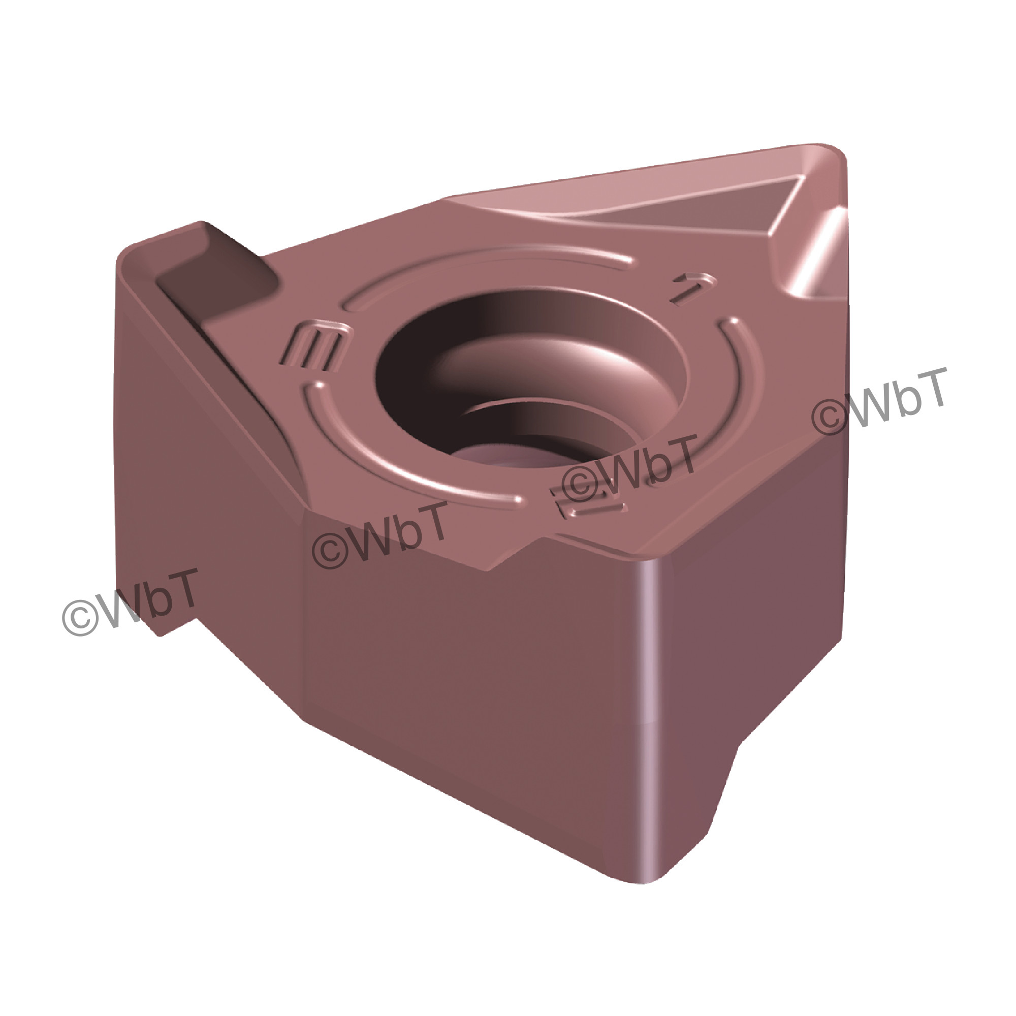 AKUMA - XNEX442R-M1 PM15M Special Shape / Indexable Carbide Milling Insert