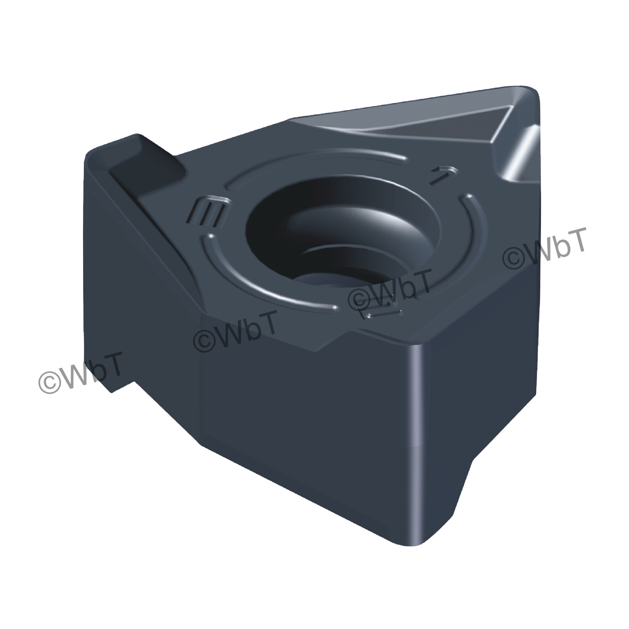 AKUMA - XNEX442R-M1 PM20M Special Shape / Indexable Carbide Milling Insert
