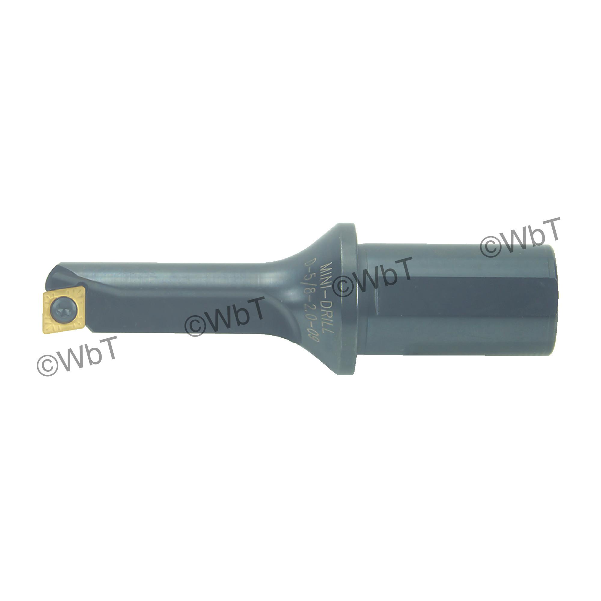 """T&O - D-5/8-2.0-09 - Multi Tool / 0.625"""" Drill Diameter / 2.000"""" Depth of Cut / Drill, Bore, Turn, & Facing Tool Holder"""