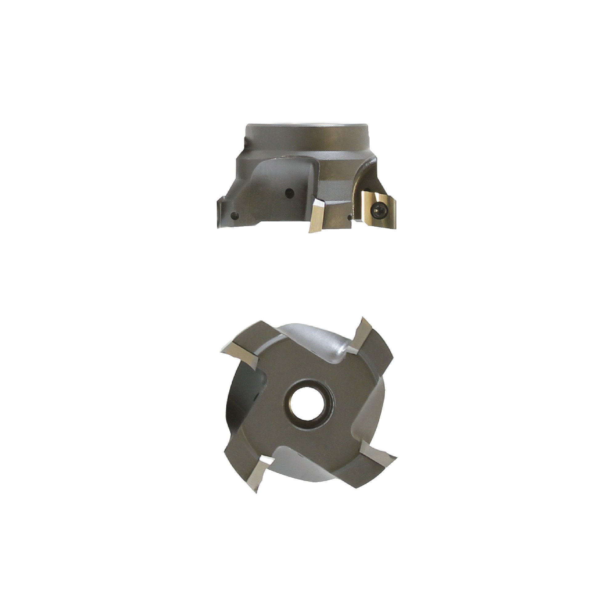 """AB TOOLS - SHELL250 / 2.500"""" Face Mill for ADEH43_ Inserts / Right Hand"""