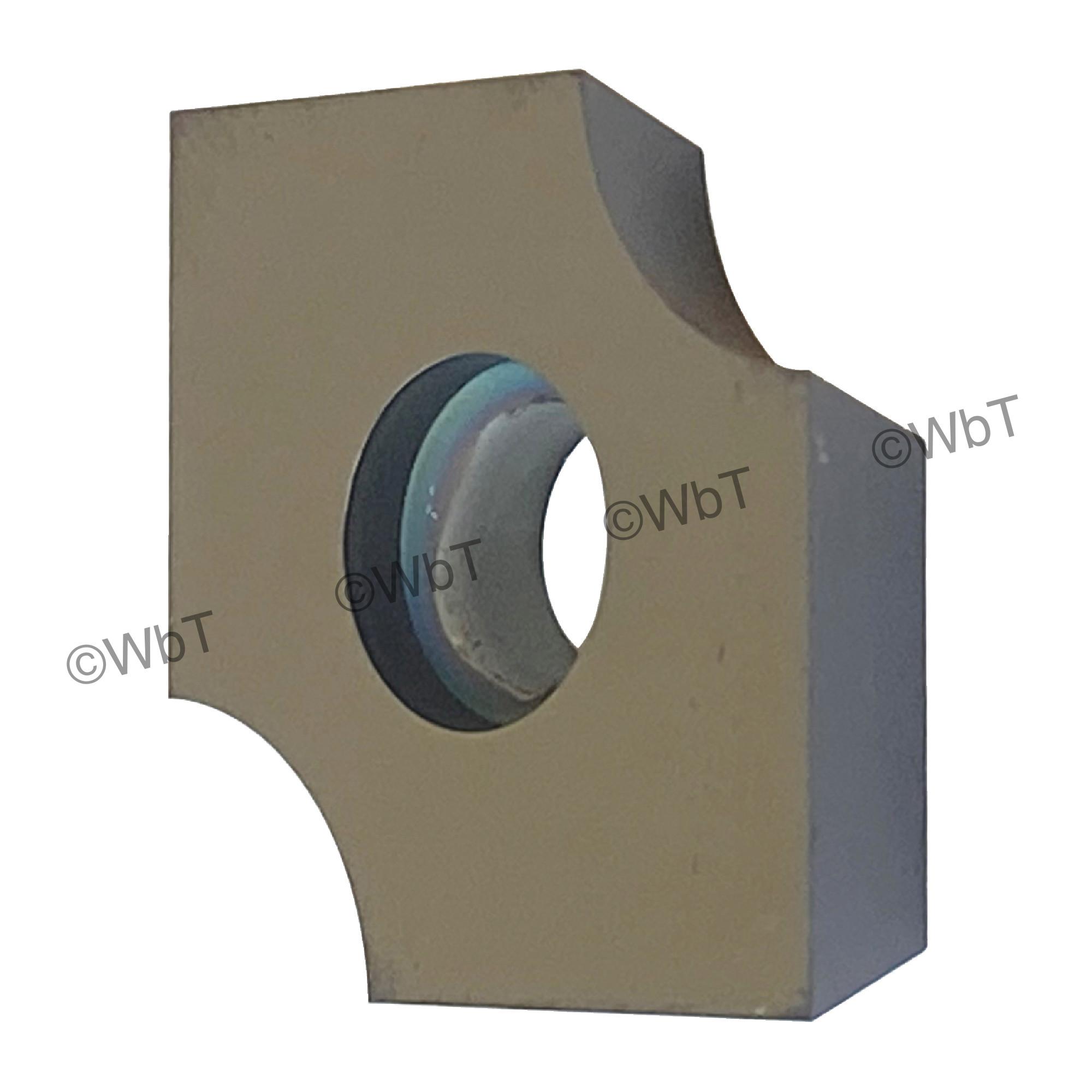 T&O - SDGX09C01E PC650 Square / INDEXABLE Carbide MILLING INSERT