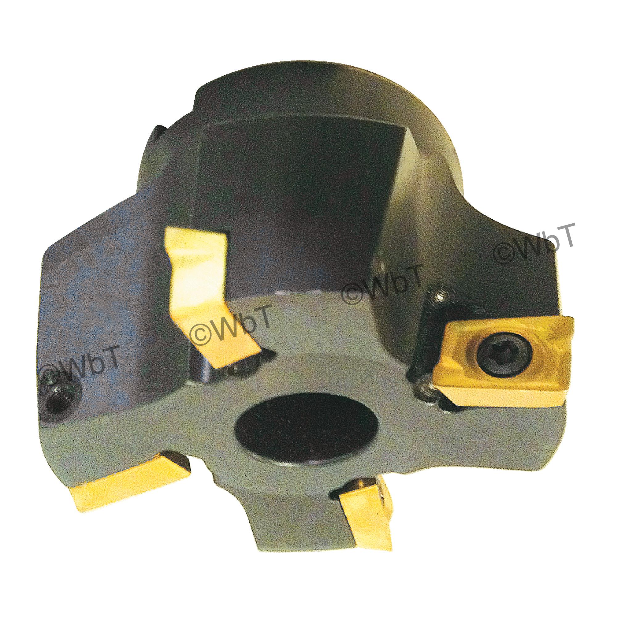 """T&O - 2.5"""" Z-ADKT1505 Face Mill / Right Hand"""