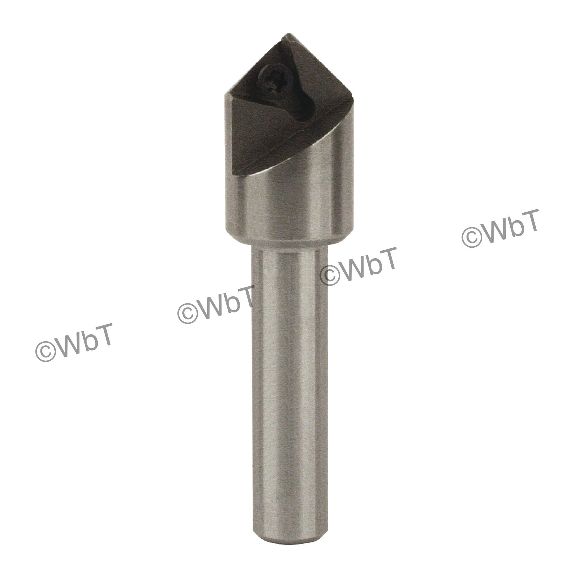 EVEREDE - IND-16-9-125 / 90° Countersink & Chamfering Holder / TPGH215