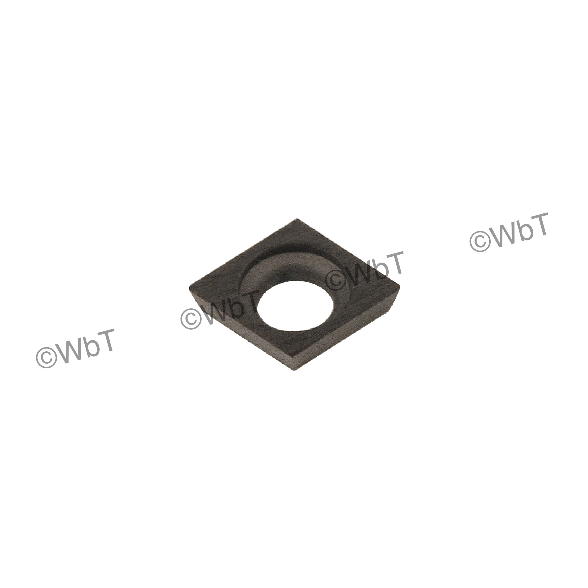 EVEREDE - CDCD-07 TL120 - 80° Diamond / Indexable Carbide Turning Insert
