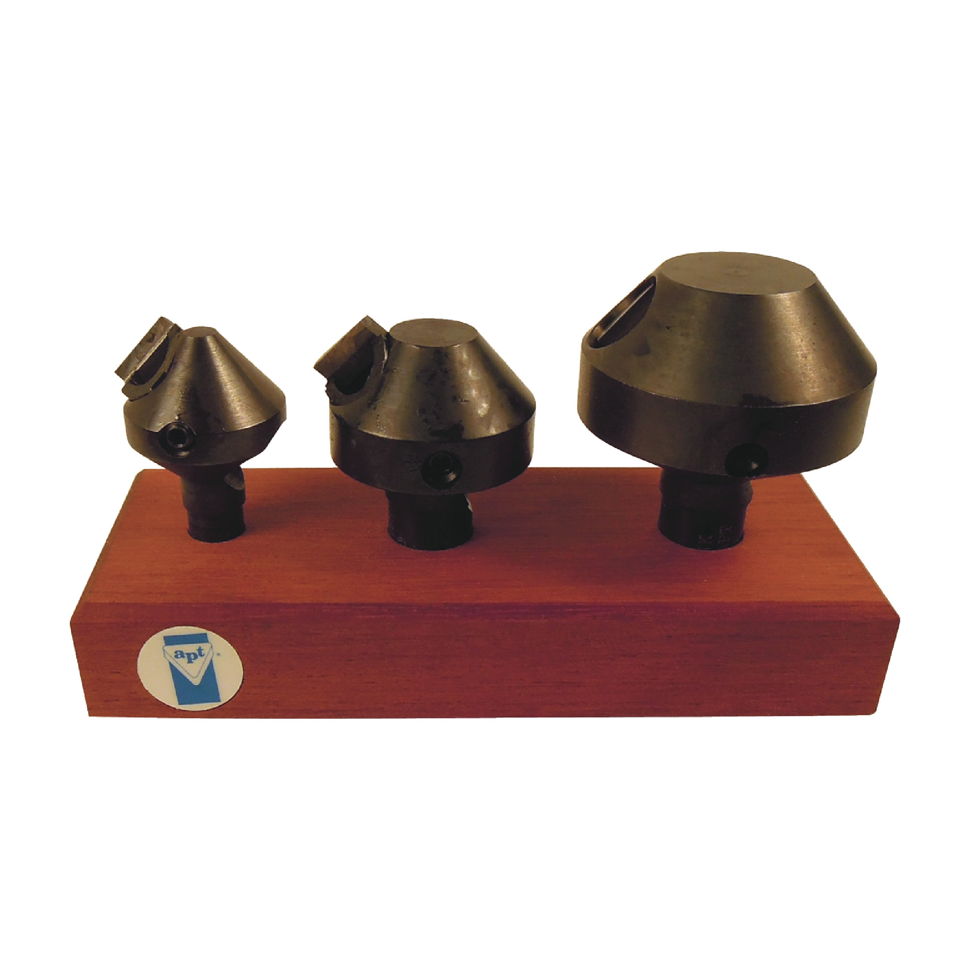 APT - 548SC8 - 82° 3 Piece Countersink Set / Comes Loaded with Carbide Inserts