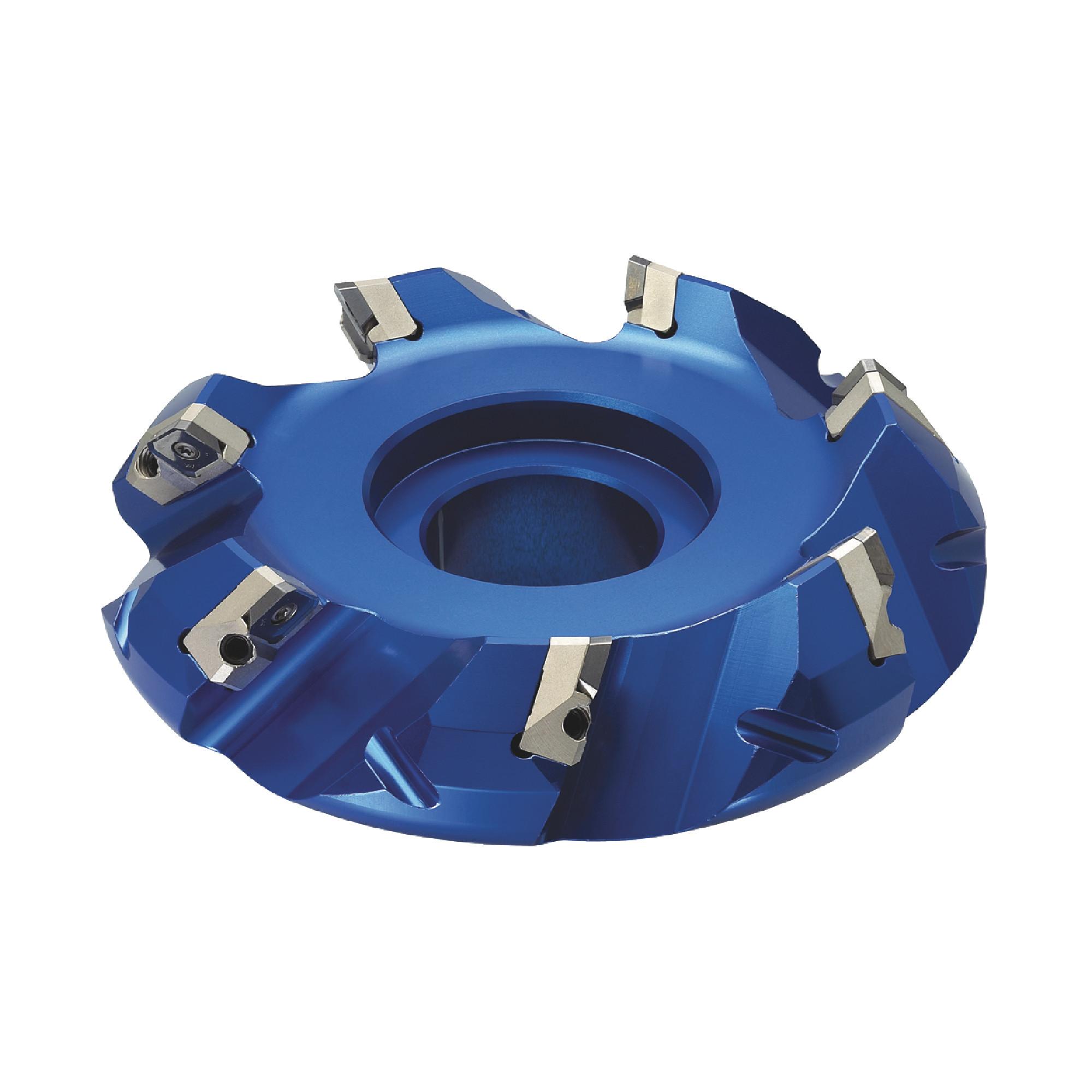 "KORLOY - 2.500"" - 45° Face Mill Set / Includes: (1) FMACA4250R-A (2.5"" ø) & (10) SEET14M4AGFN-MA H01 Polishe"
