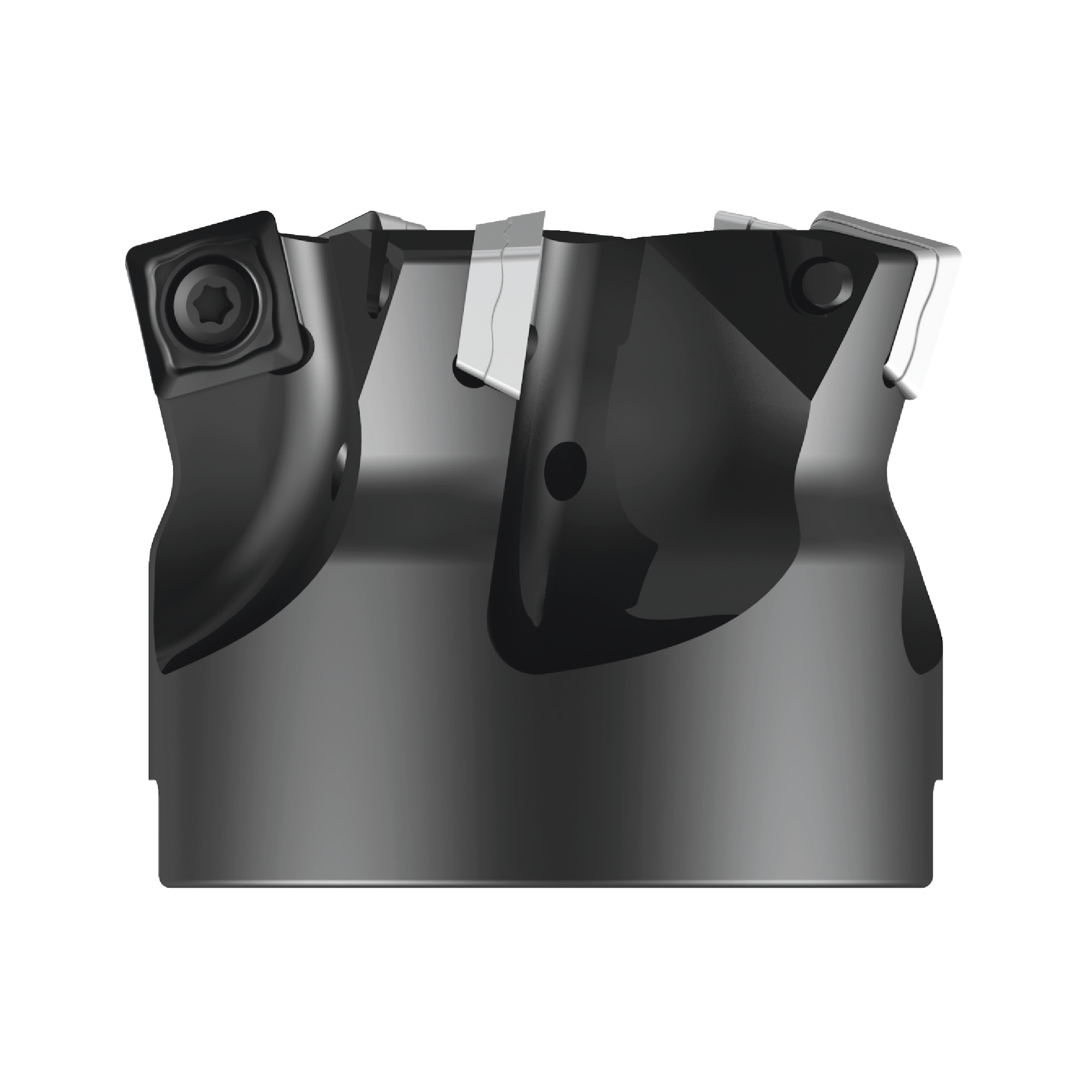 """WALTER - M4002.064-B19-05-02 / 2.500"""" High-Feed Face Mill for SDMT1204__ Inserts / Right Hand"""