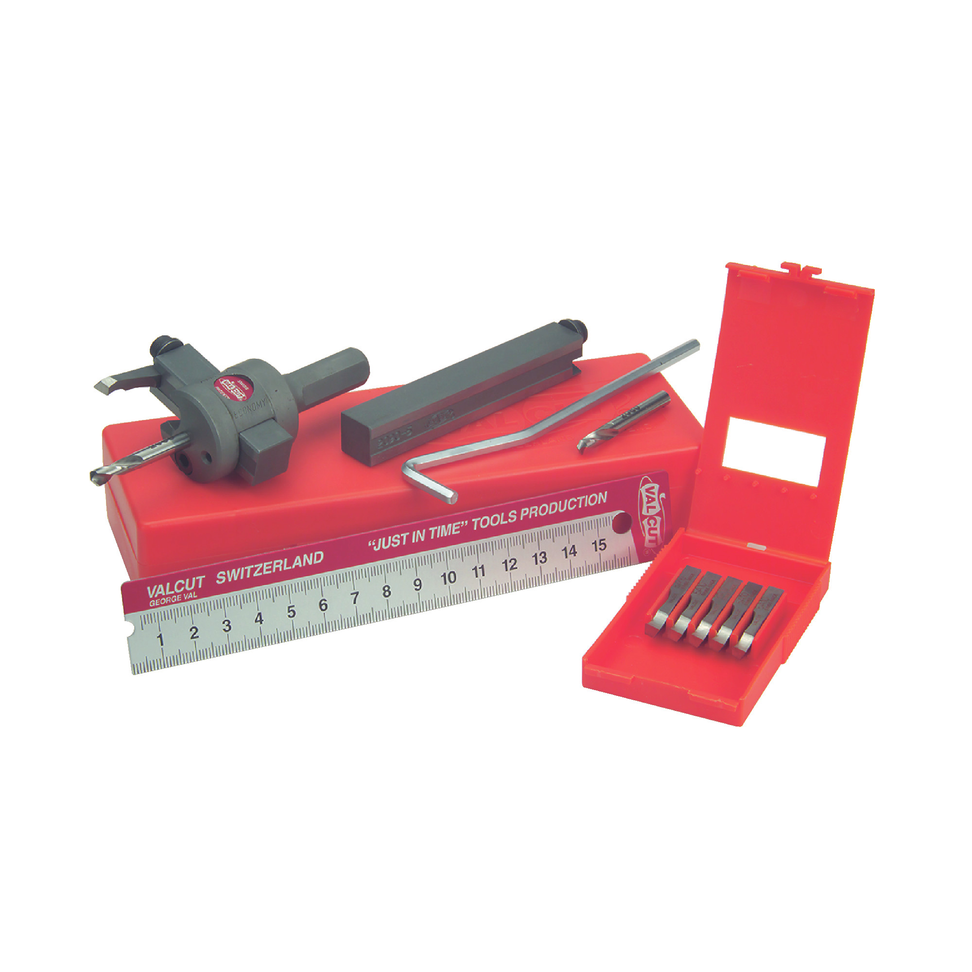 Cutting System With Removeable High Speed Steel Regrindable E Blades