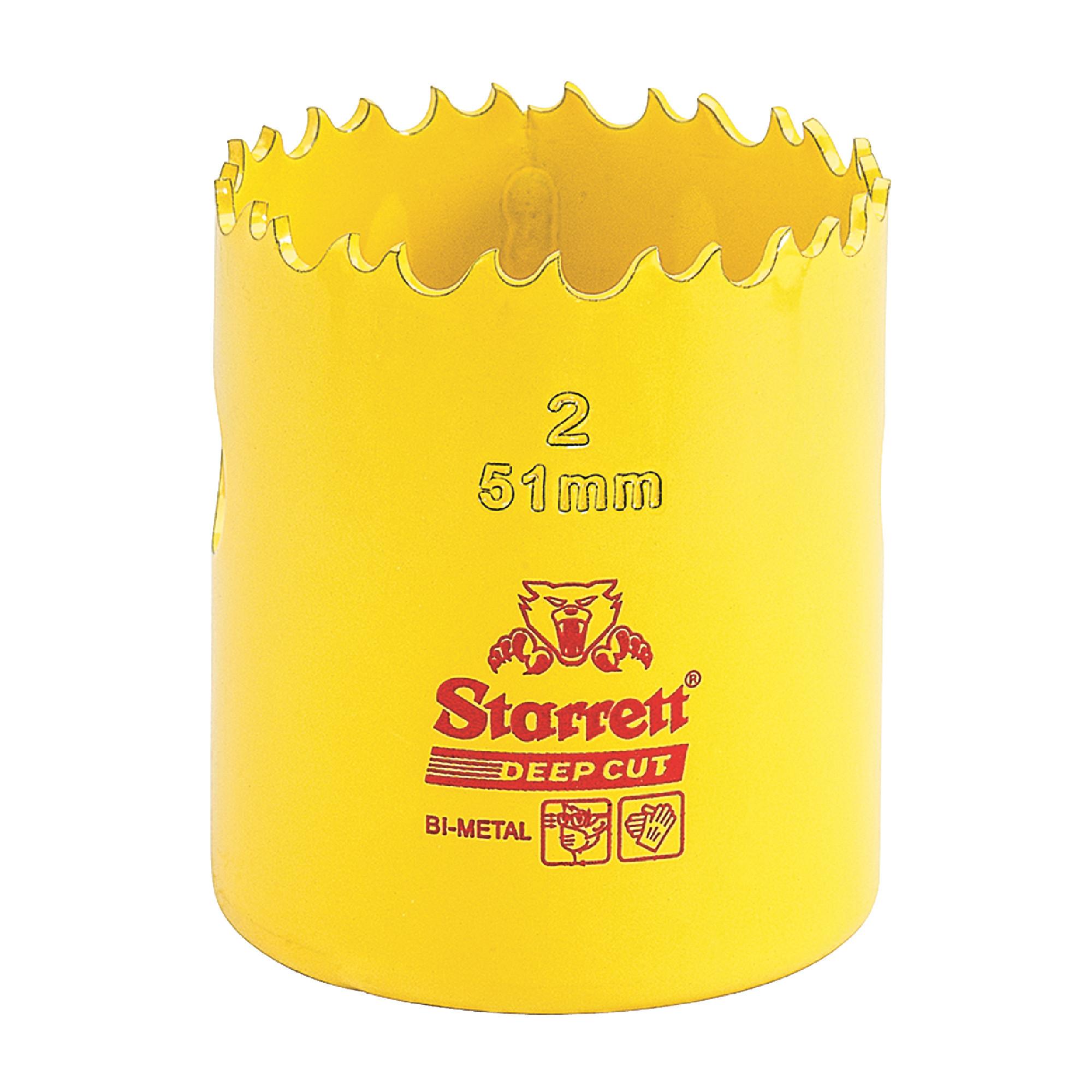 """1"""" BIMETAL DEEPCUT HOLE SAW-STARRETT"""