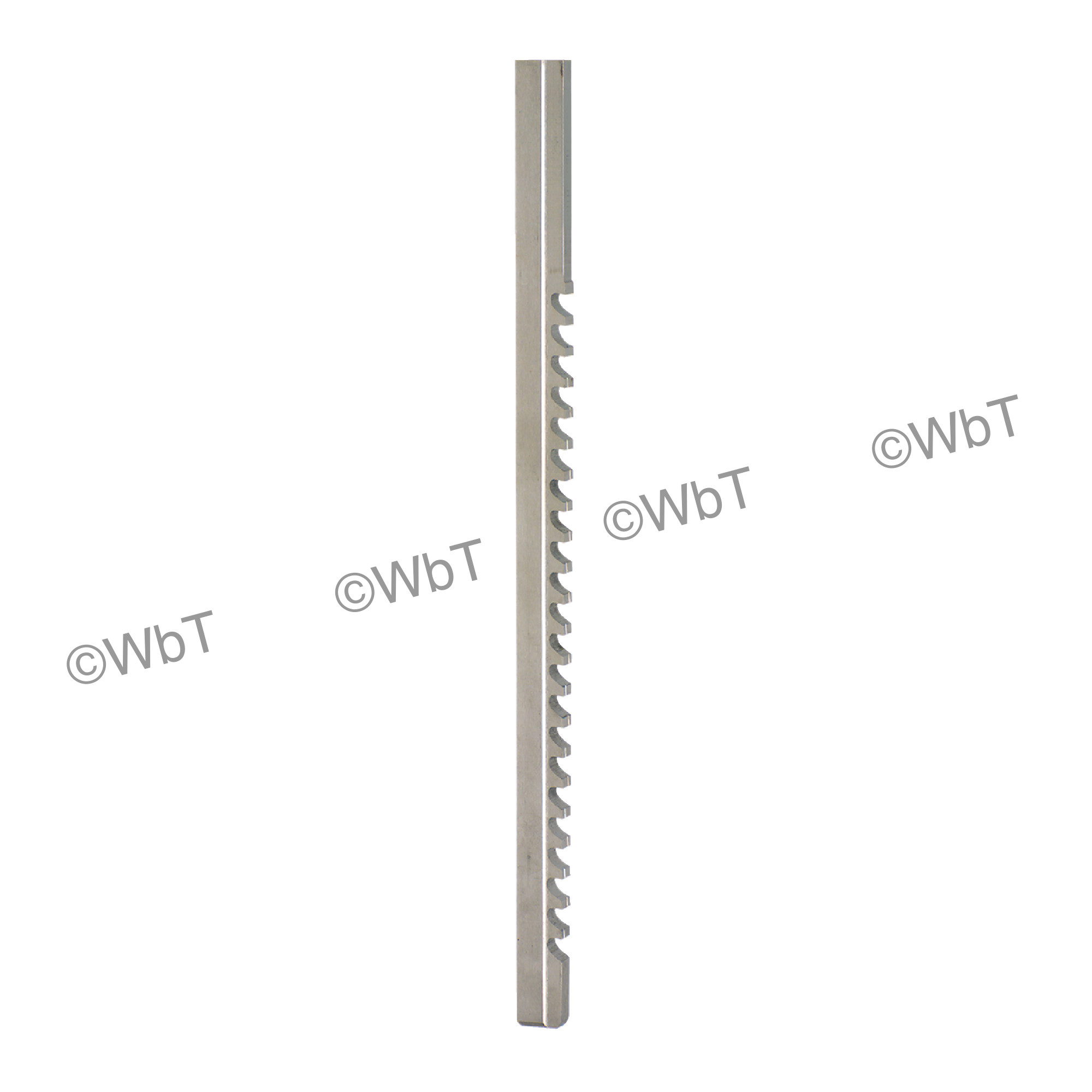High Speed Steel Keyway Broaches With Shim