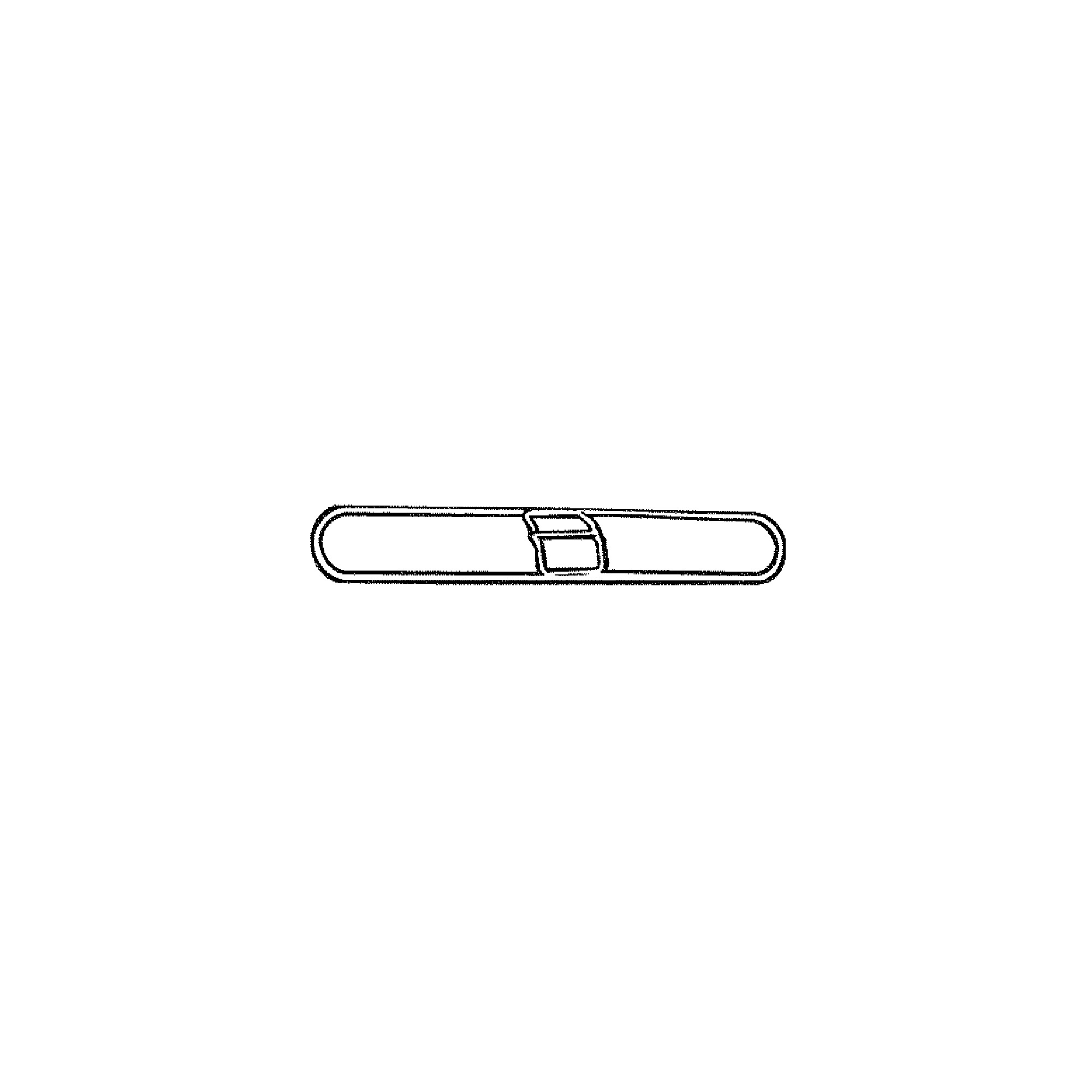 """5"""" x 36"""" Snap-On Wire Frame For K155 Dust Mop"""