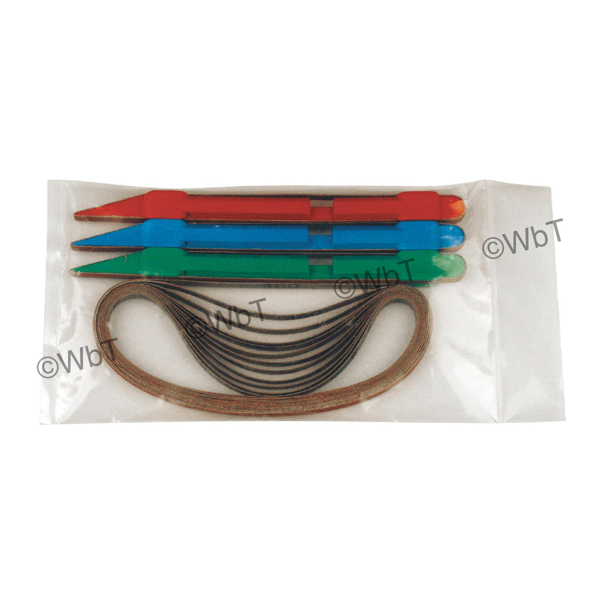 Belt Sanding Sticks Set