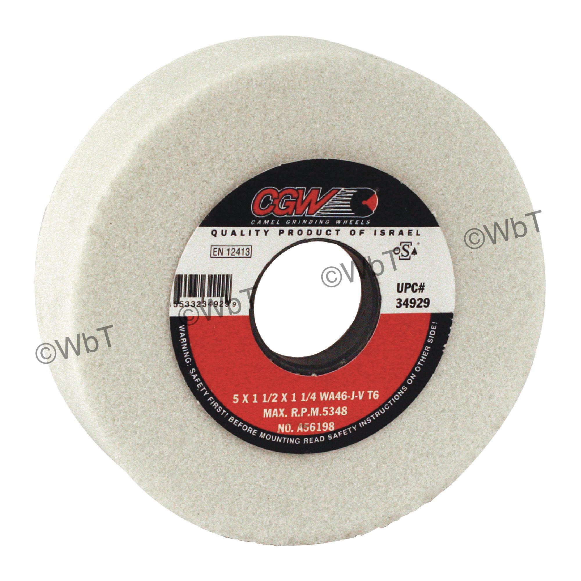 Aluminum Oxide Tool Room Surface Grinding Wheel