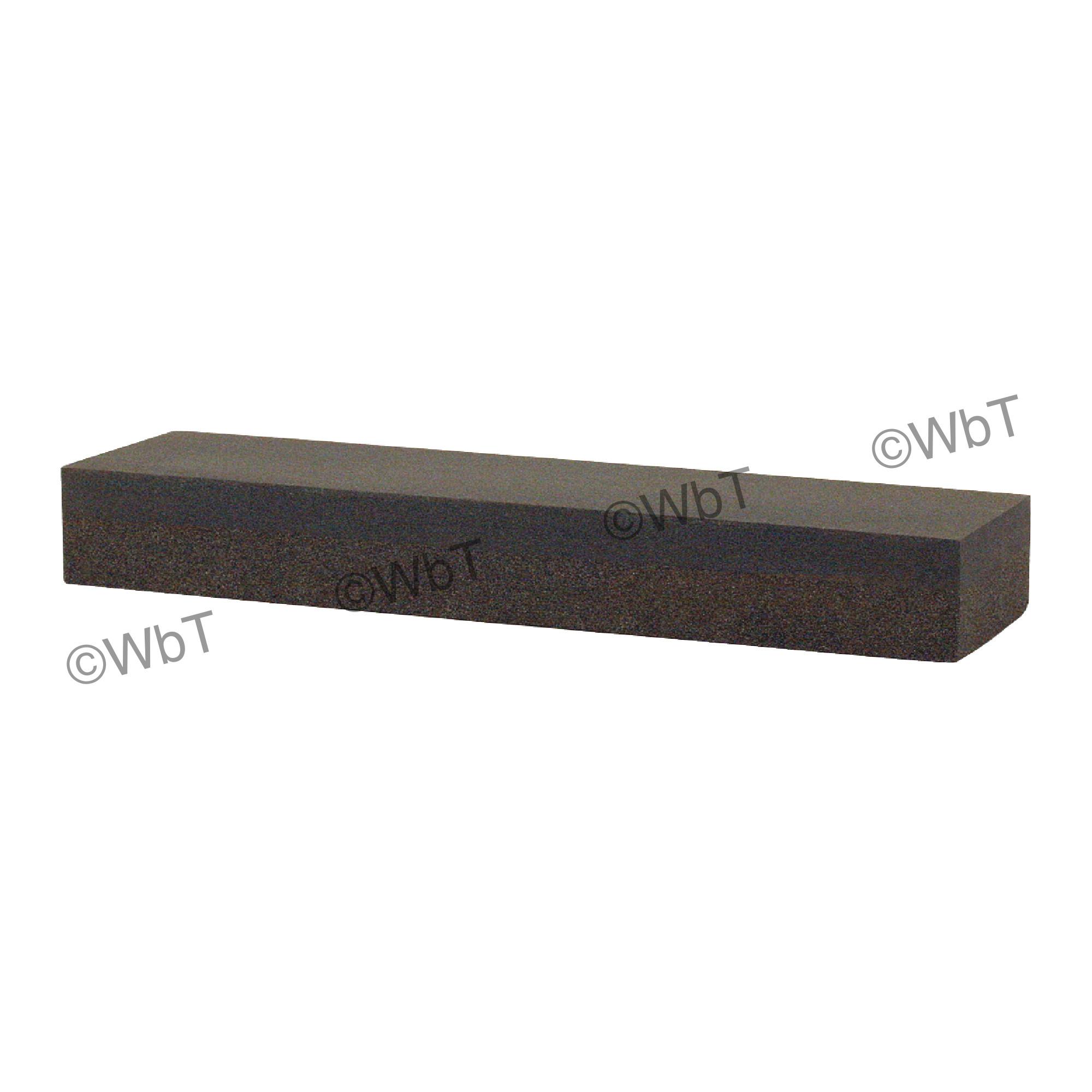 "Combination Bench Sharpening Stone 1"" x 2"" x 6"" - Silicon Carbide"