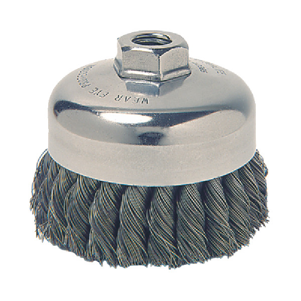 Knot Style Wire Cup Brush