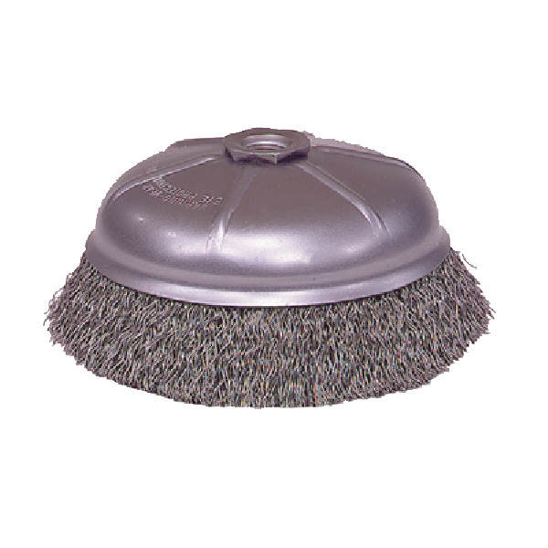 Crimped Style Wire Cup Brush