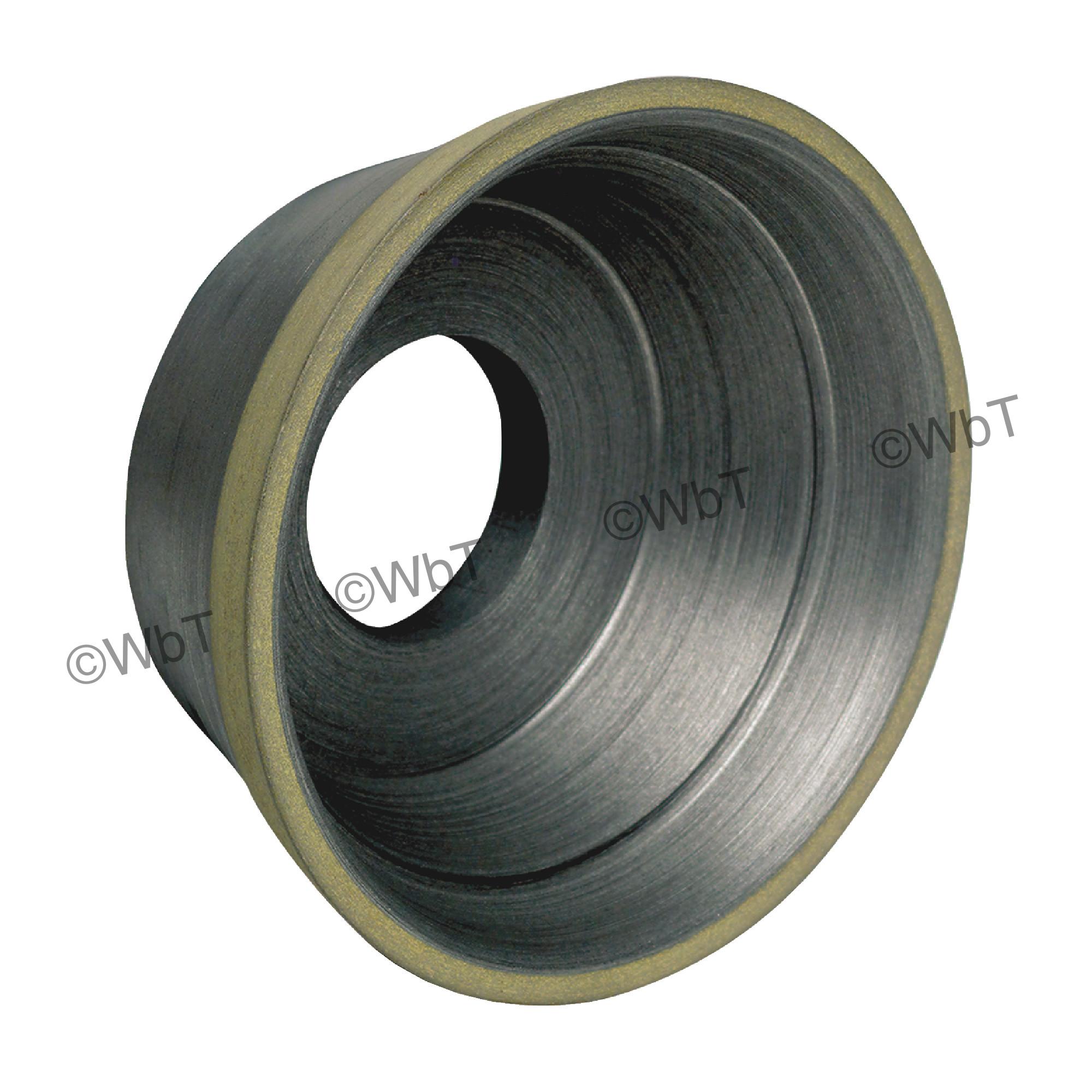 Type D11V9 - Flaring Cup Style Diamond Wheel