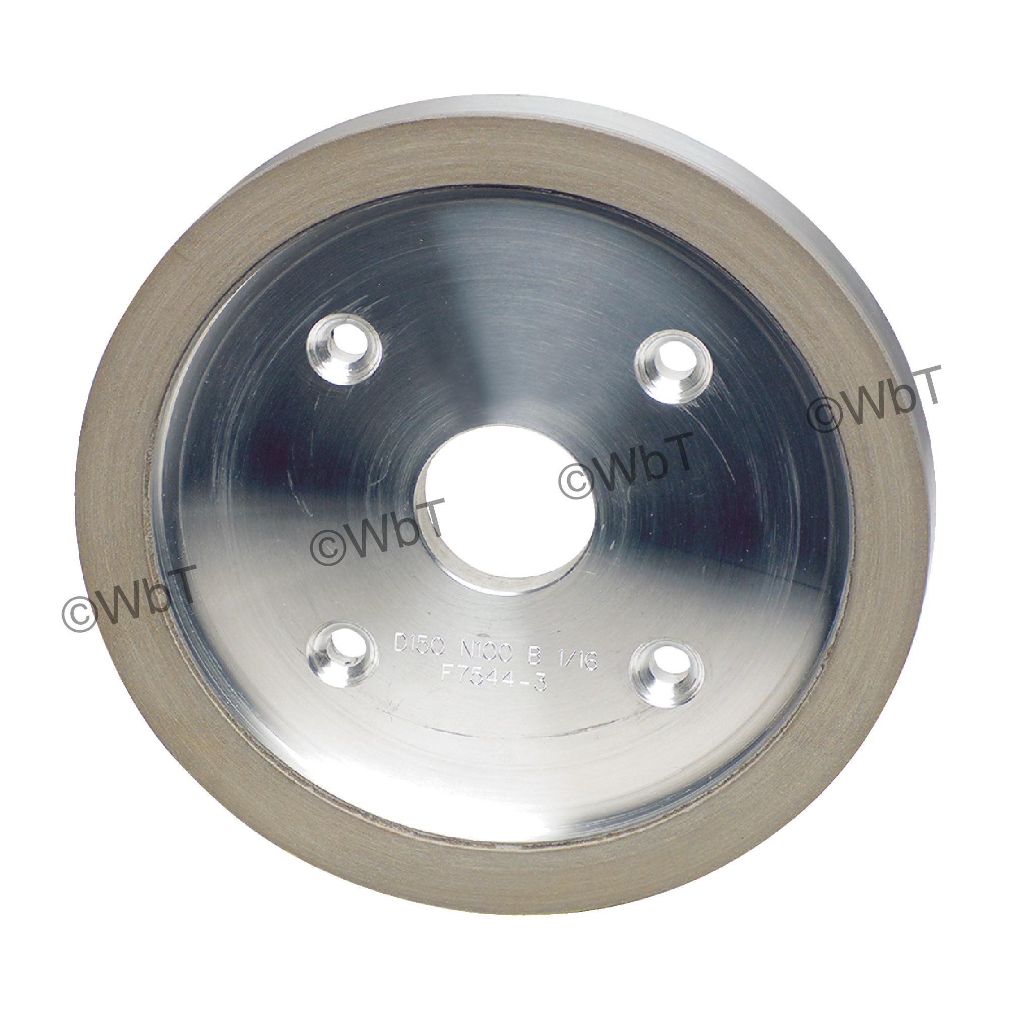 Type D6A2C - Plain Cup Style Diamond Wheel
