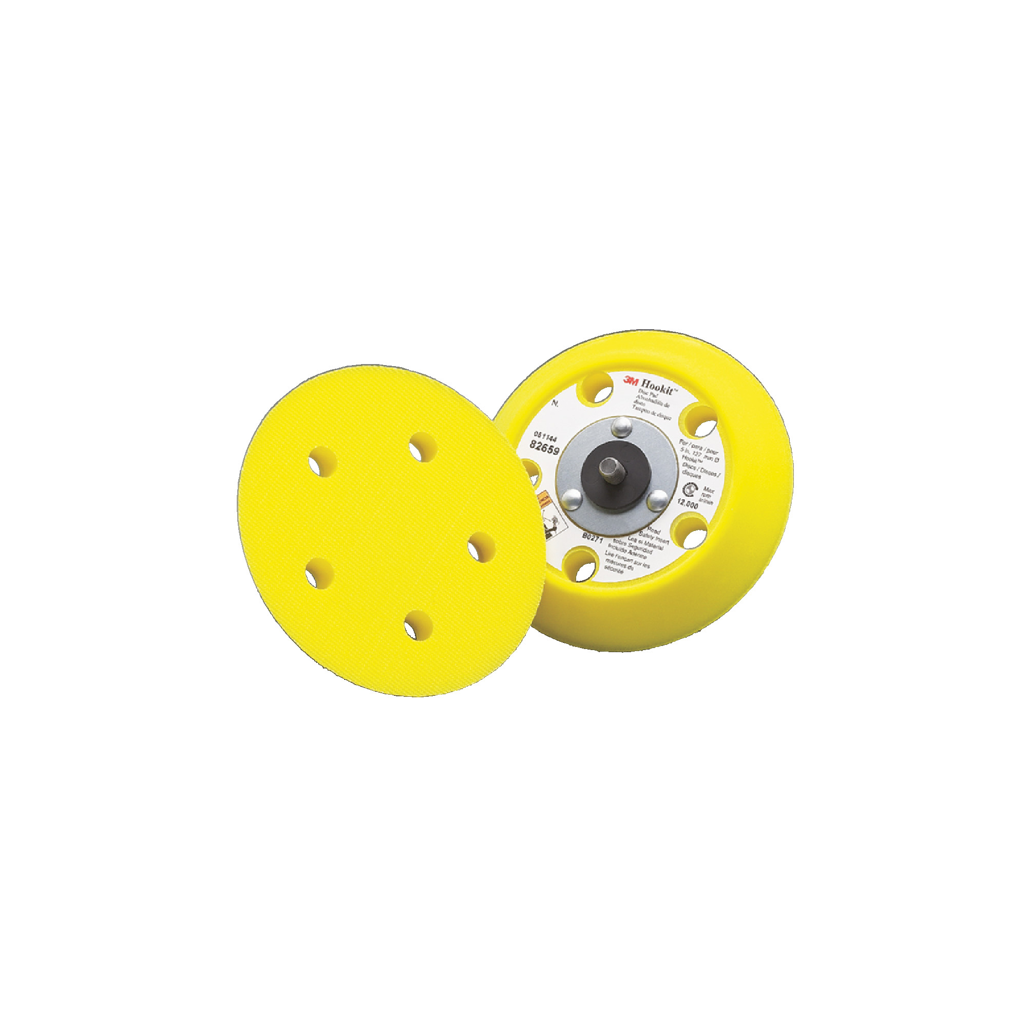 Back-up Pad for 255L Hookit™ Gold Film Dust-Free Discs