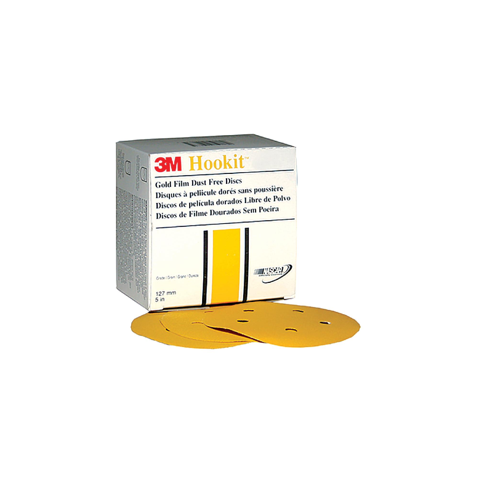 255L Hookit™ Gold Film Dust-Free Discs