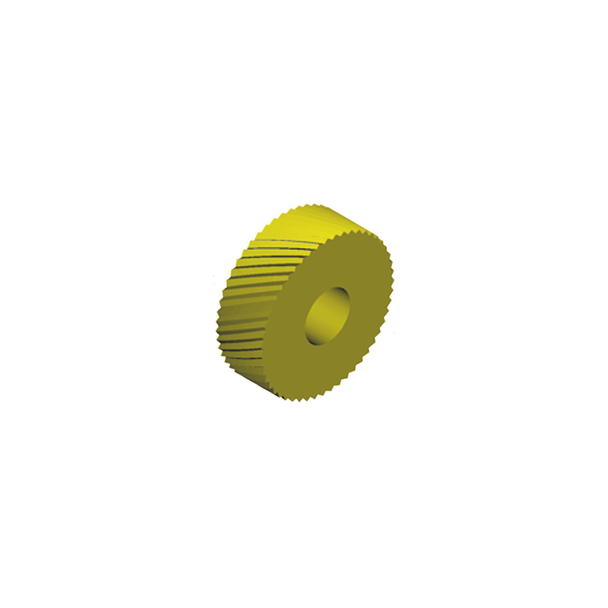 Circular Pitch Knurl Wheel