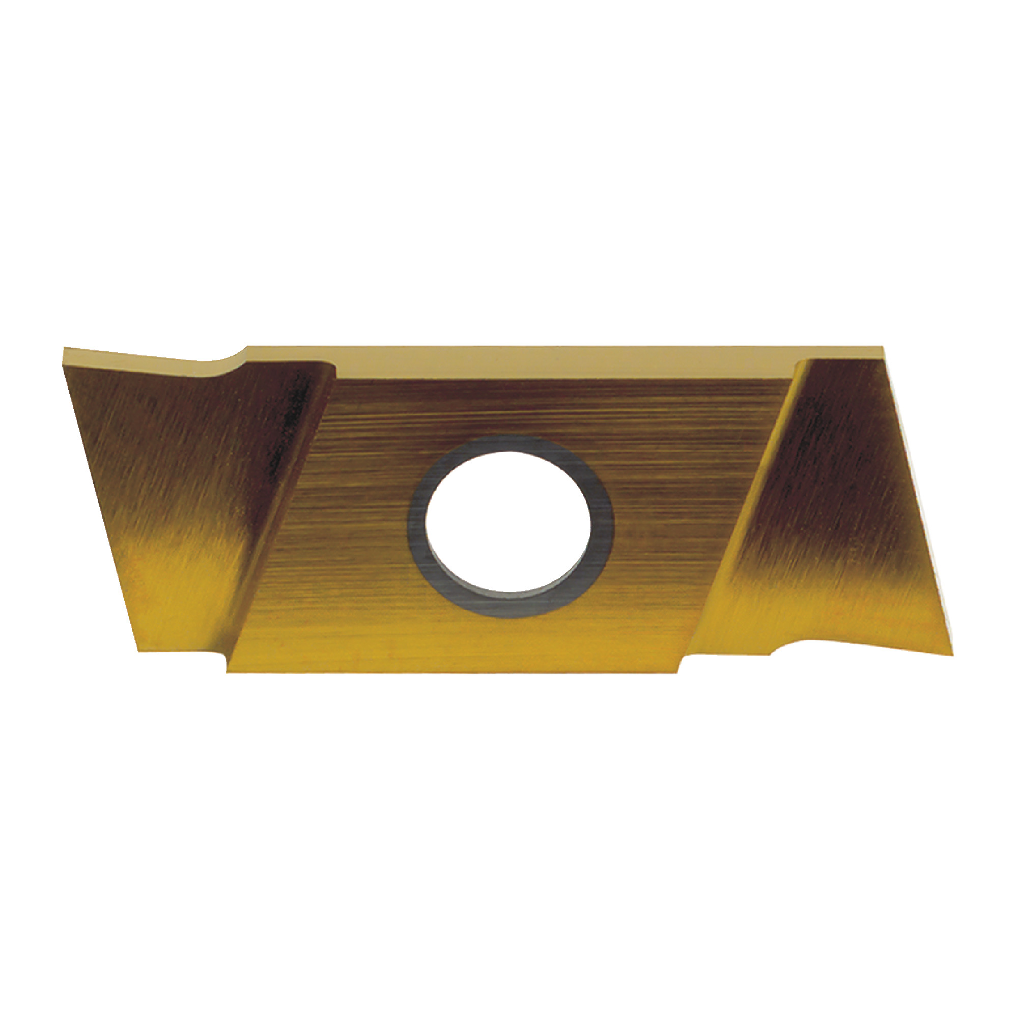 """NIKCOLE - GIE-7-GP-1.0LL C5-PV / Indexable Carbide Insert for Grooving & Parting / 0.039"""" Cutting Width / Left Hand"""