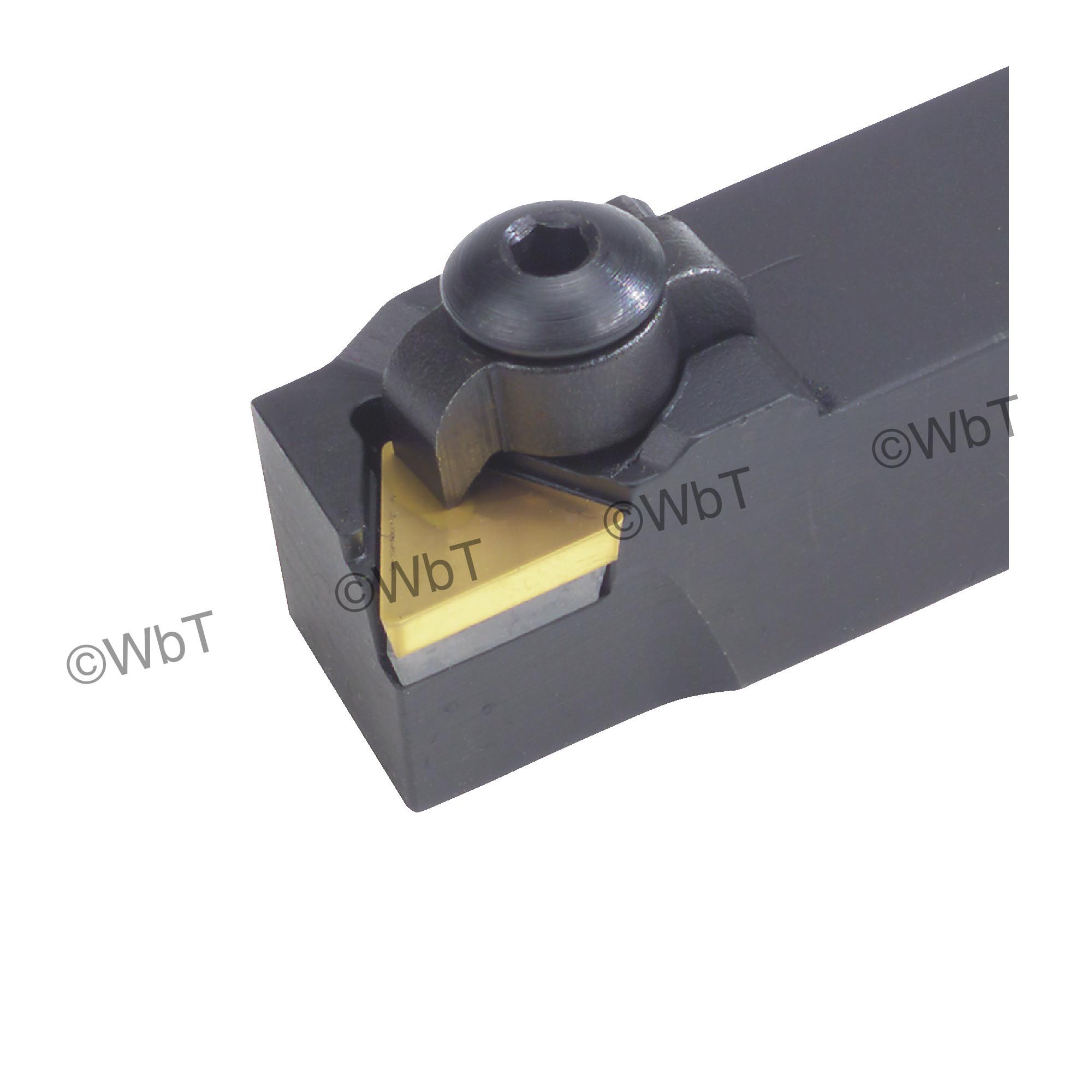 """DORIAN - CTAPL16-3D / 1.000"""" Tool Holder for TPG32_  Inserts / Left Hand"""