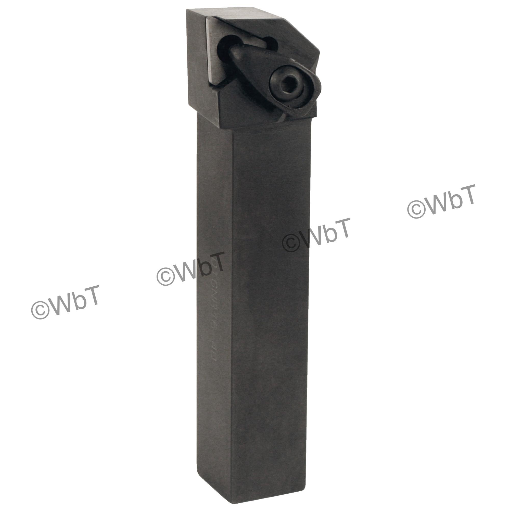 "TTC PRODUCTION - DTGNR16-4D / 1.000"" External Tool Holder for TNMG43_ Inserts / Right Hand"