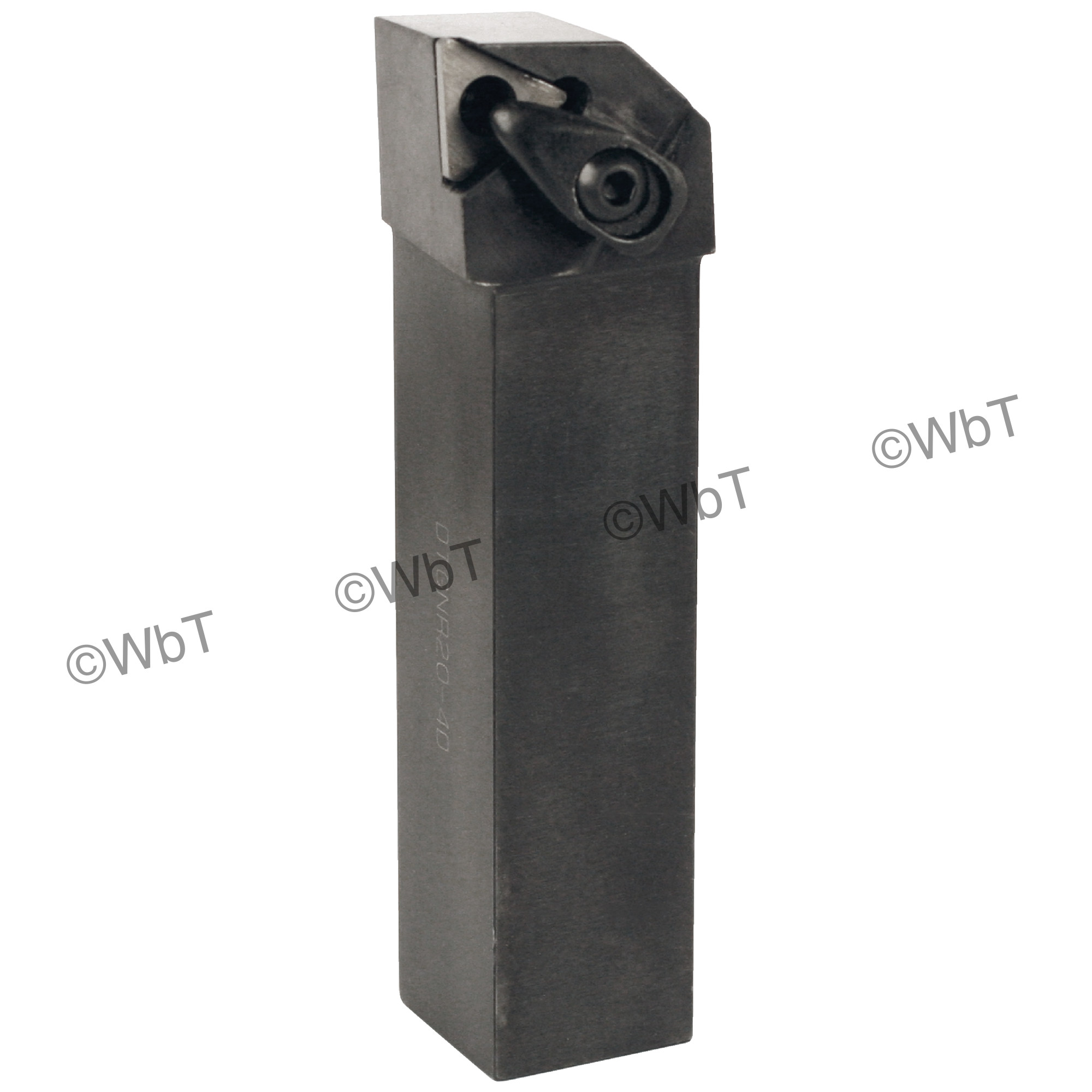 "TTC PRODUCTION - DTGNR20-4D / 1.250"" External Tool Holder for TNMG43_ Inserts / Right Hand"