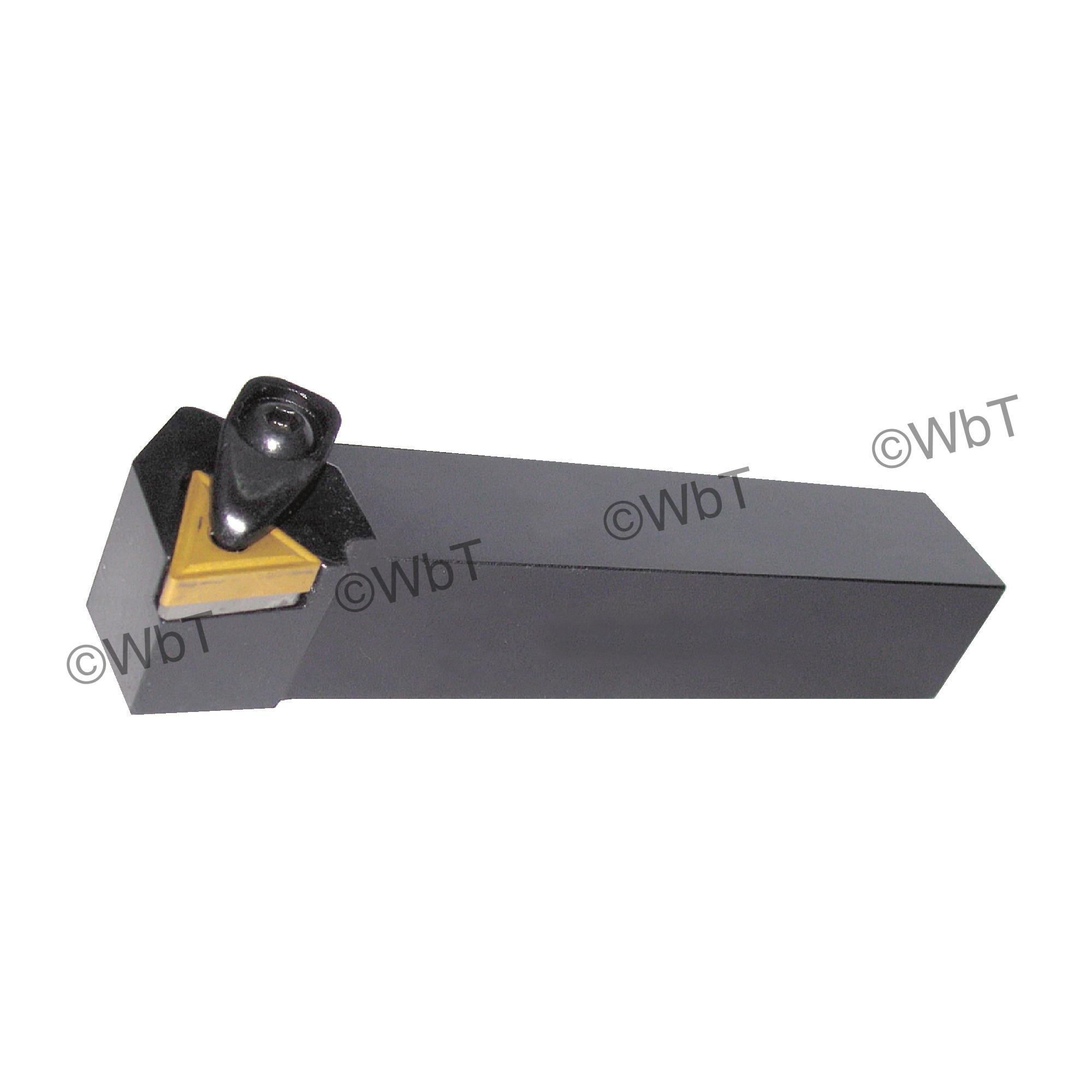 """TTC PRODUCTION - DTJNR12-3B / 0.750"""" External Tool Holder for TNMG33_ Inserts / Right Hand"""