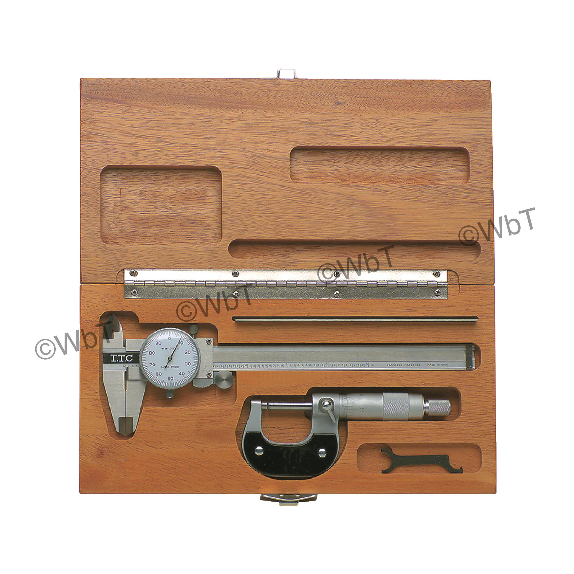 Machinist 3-In-1 Tool Set