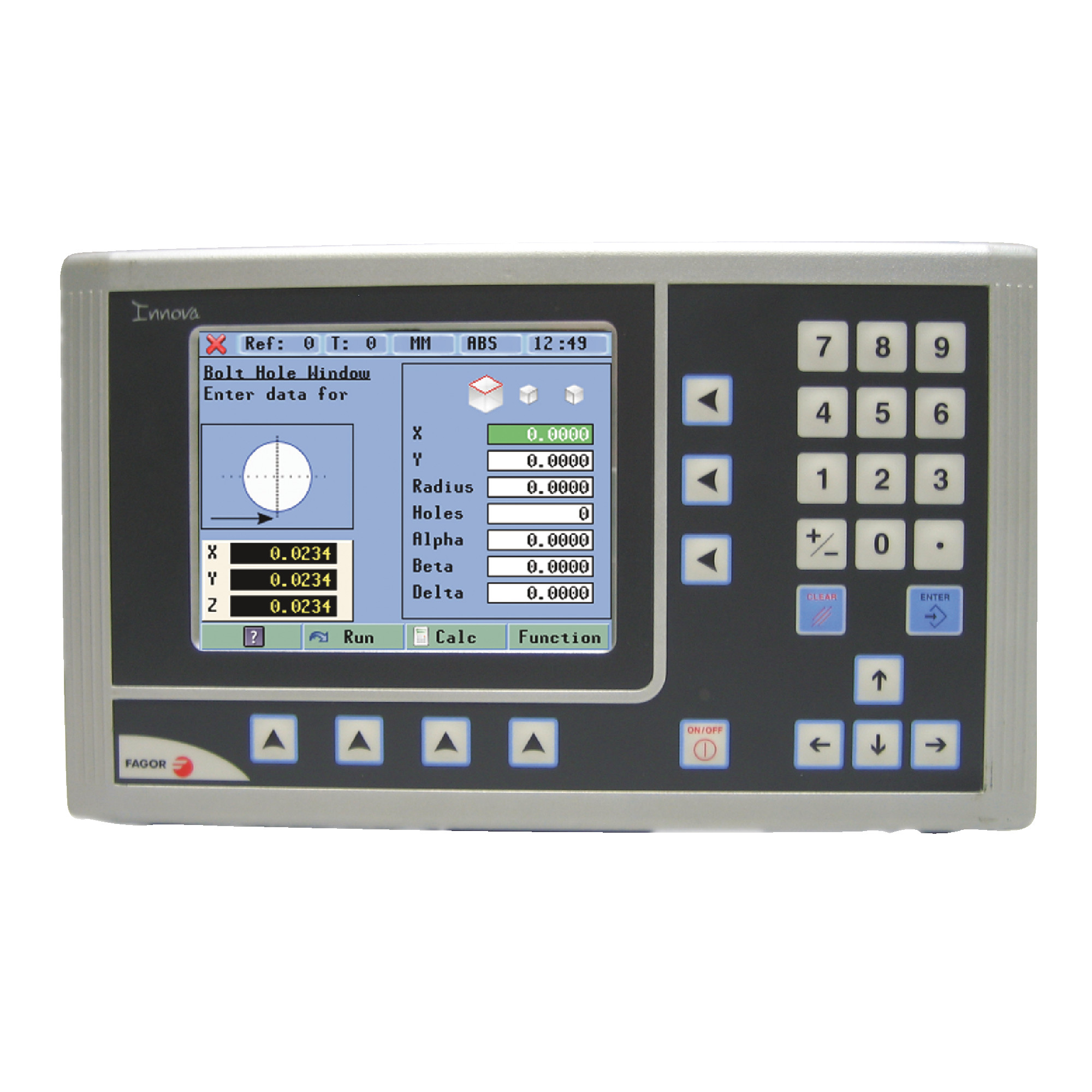 Color LCD Mill Package